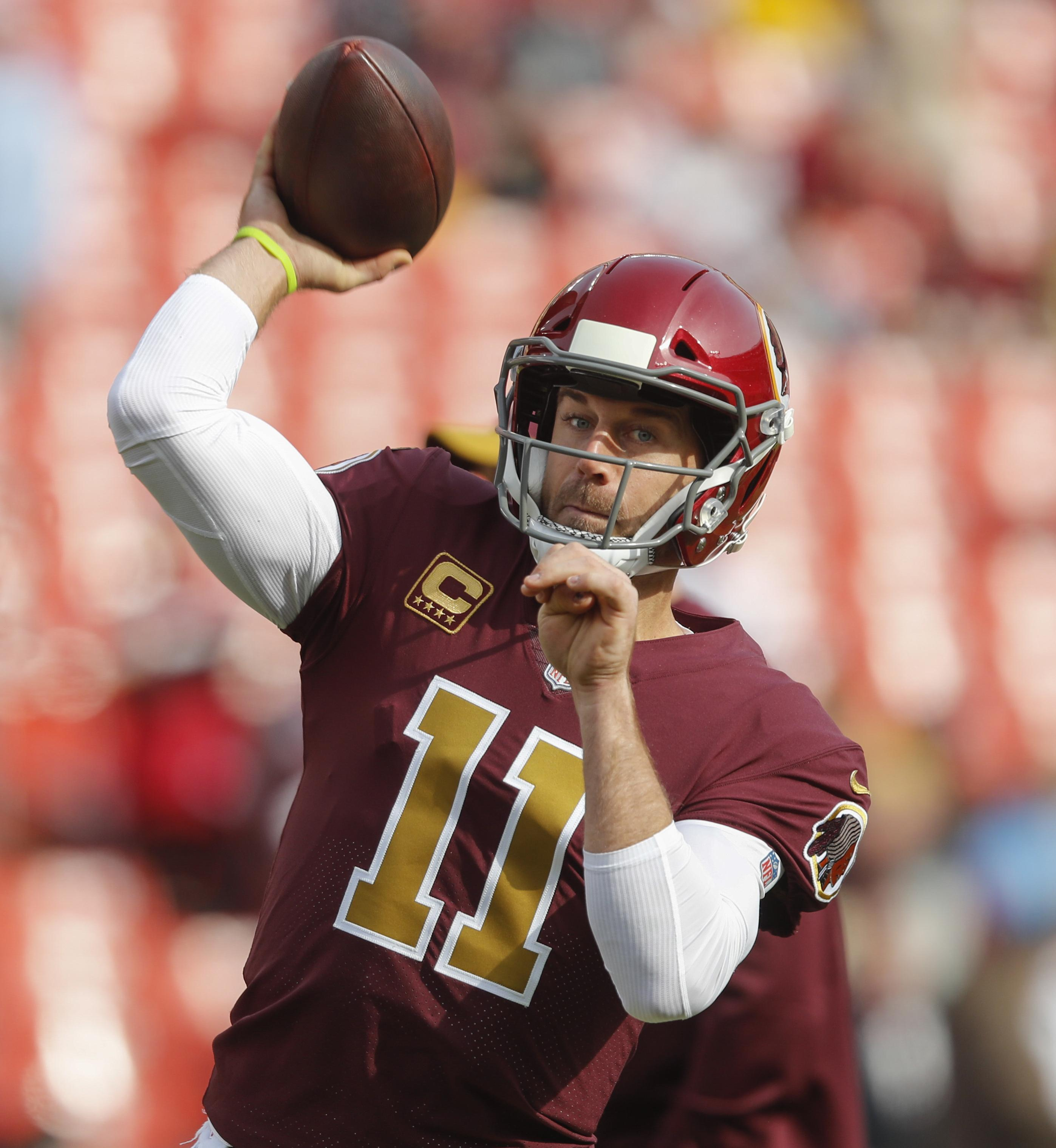 Redskins Qb Alex Smith On Playing Again That S The Plan