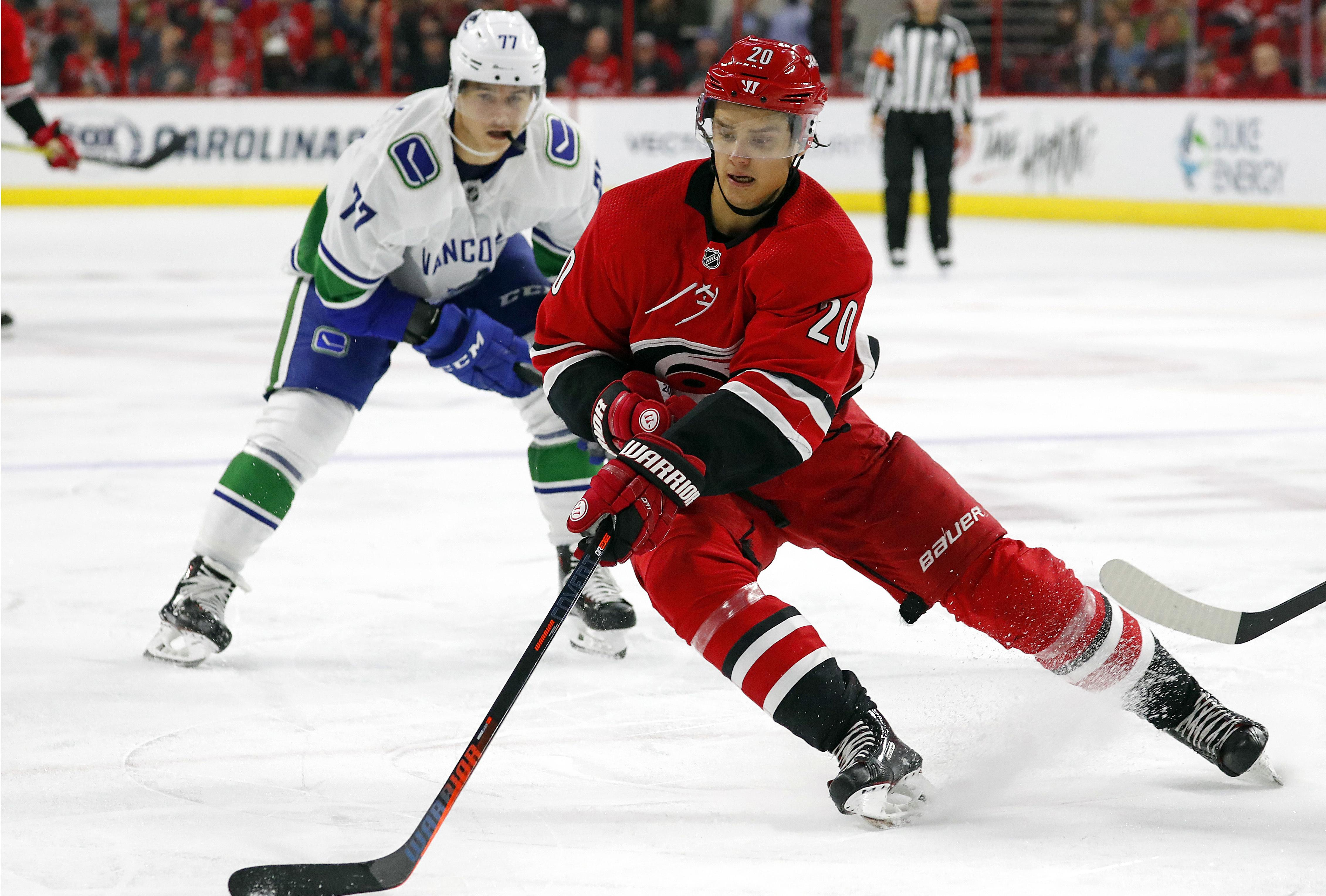 low priced 809c1 5a3d9 Hurricanes to match Montreal's offer sheet for Sebastian Aho ...