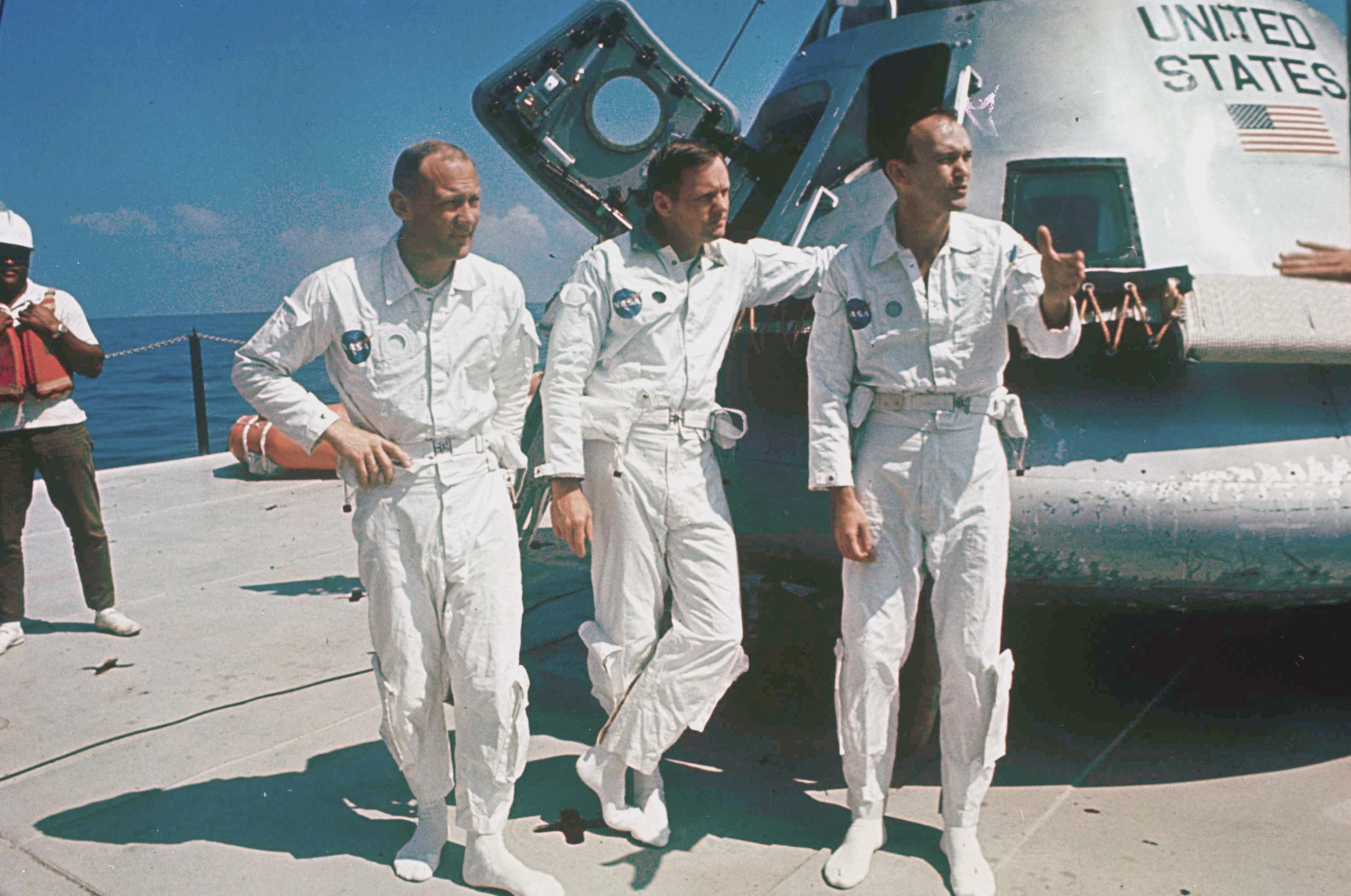 nasa apollo 11 astronauts - photo #4