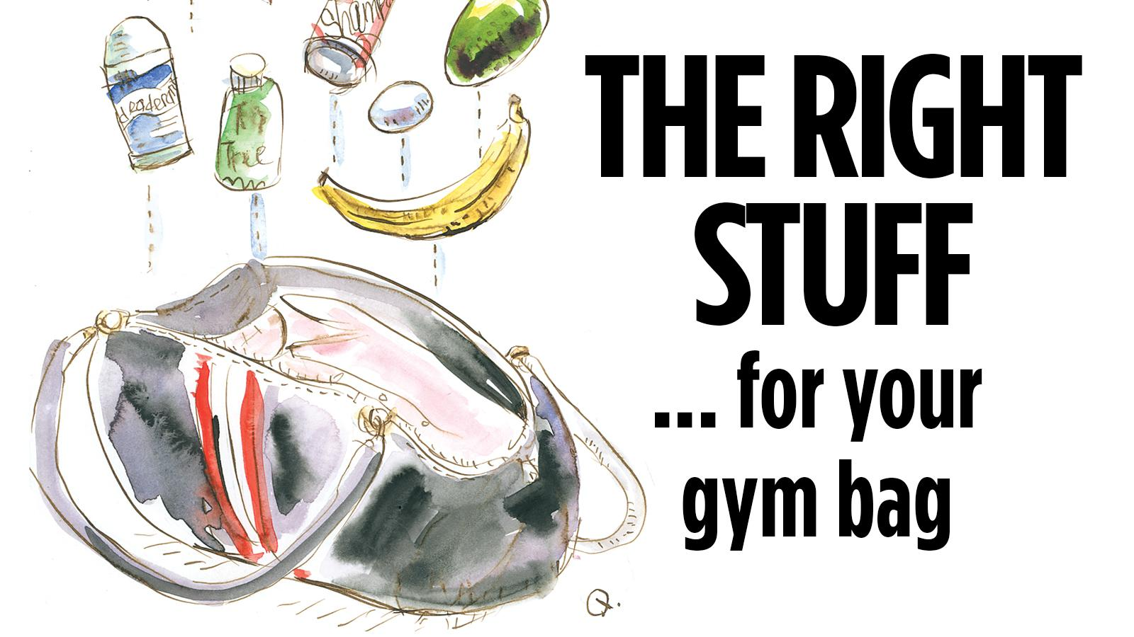 Gym bag magic: How to pack for going from workout to work