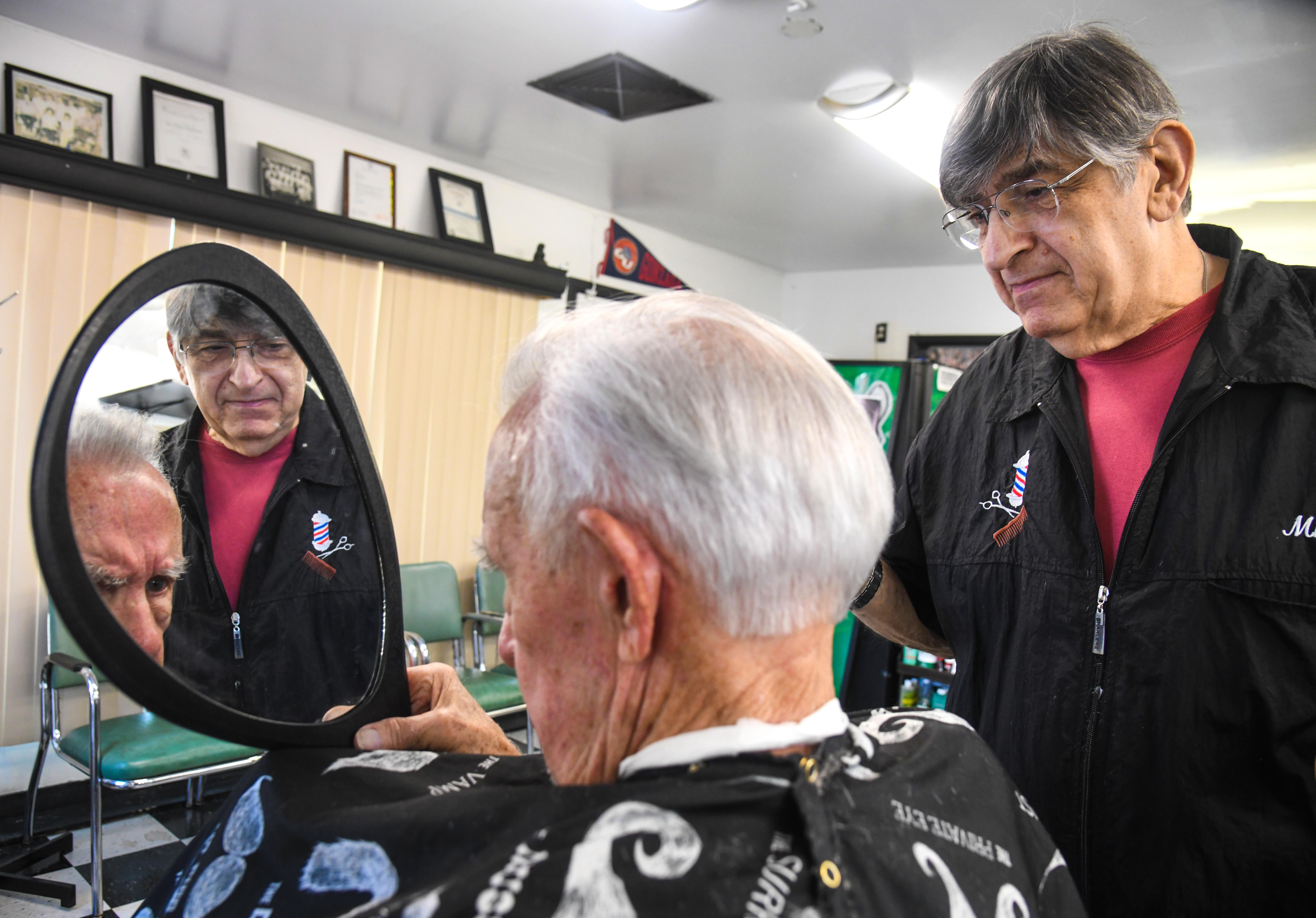 Barber Mike Tabit: Cutting hair for 57 years | The Spokesman