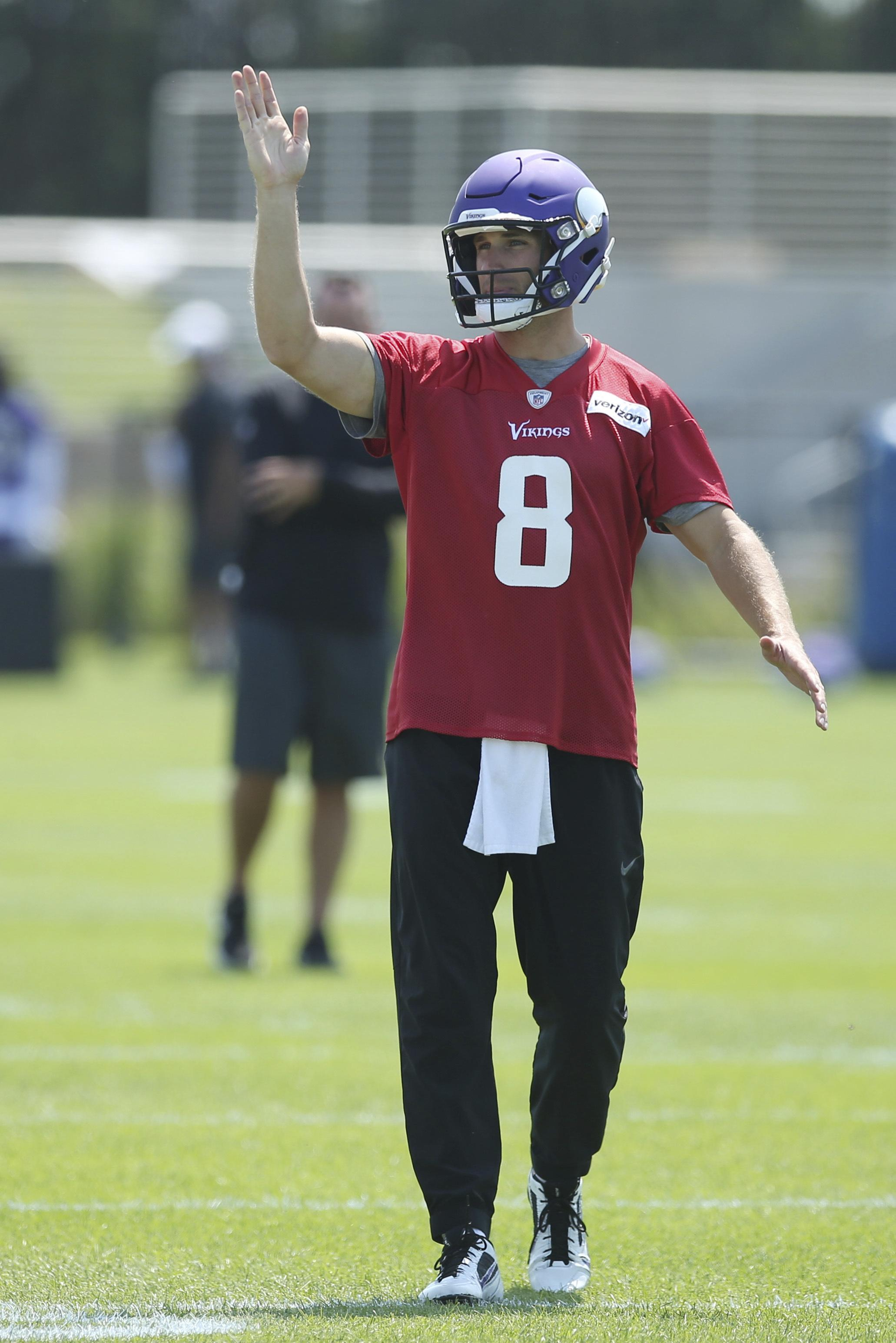 40b46c79 Kirk Cousins knows he'll be judged by Vikings' won-loss record | The ...