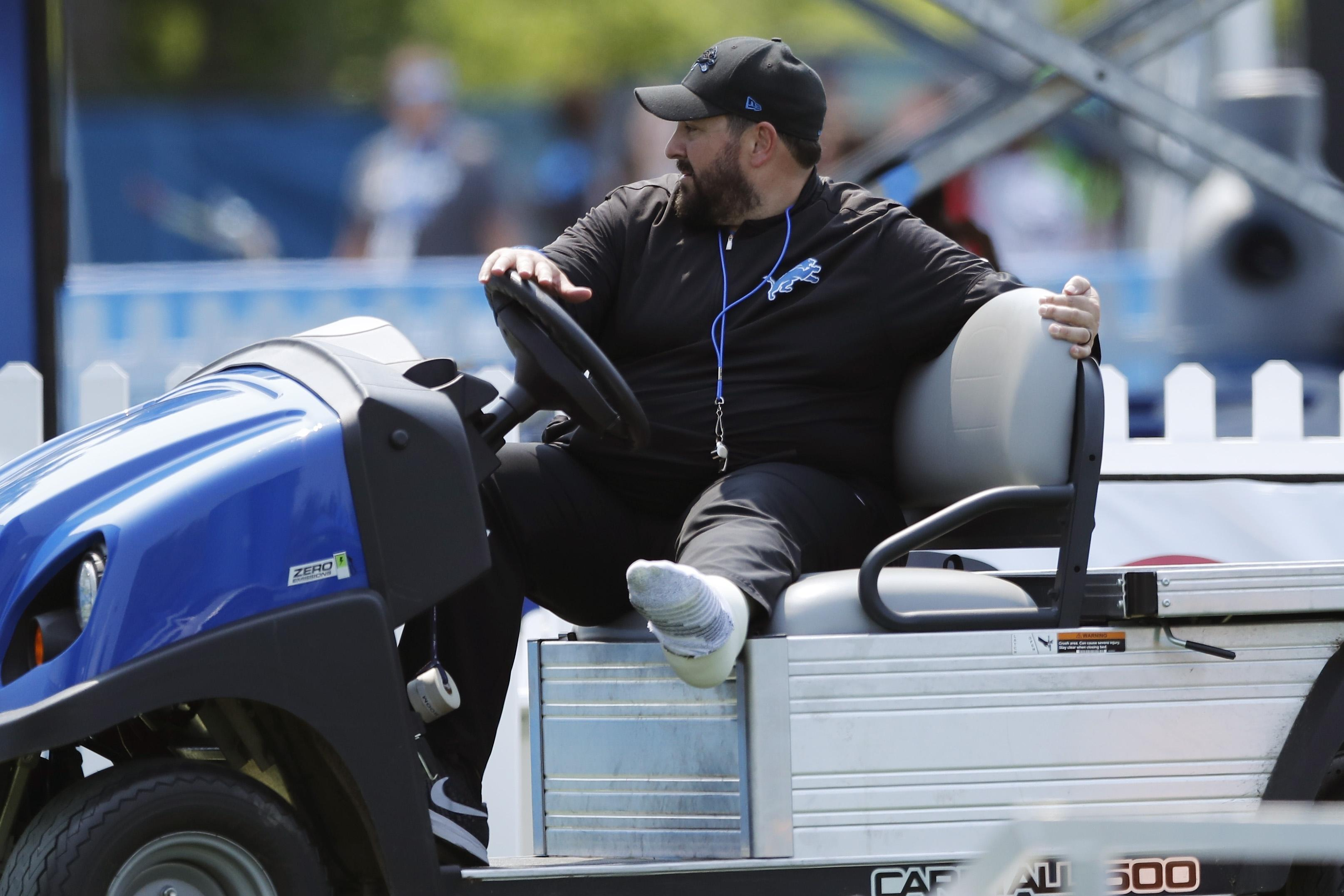 Lions Look To Get Leg Up With Coach Matt Patricia Arriving