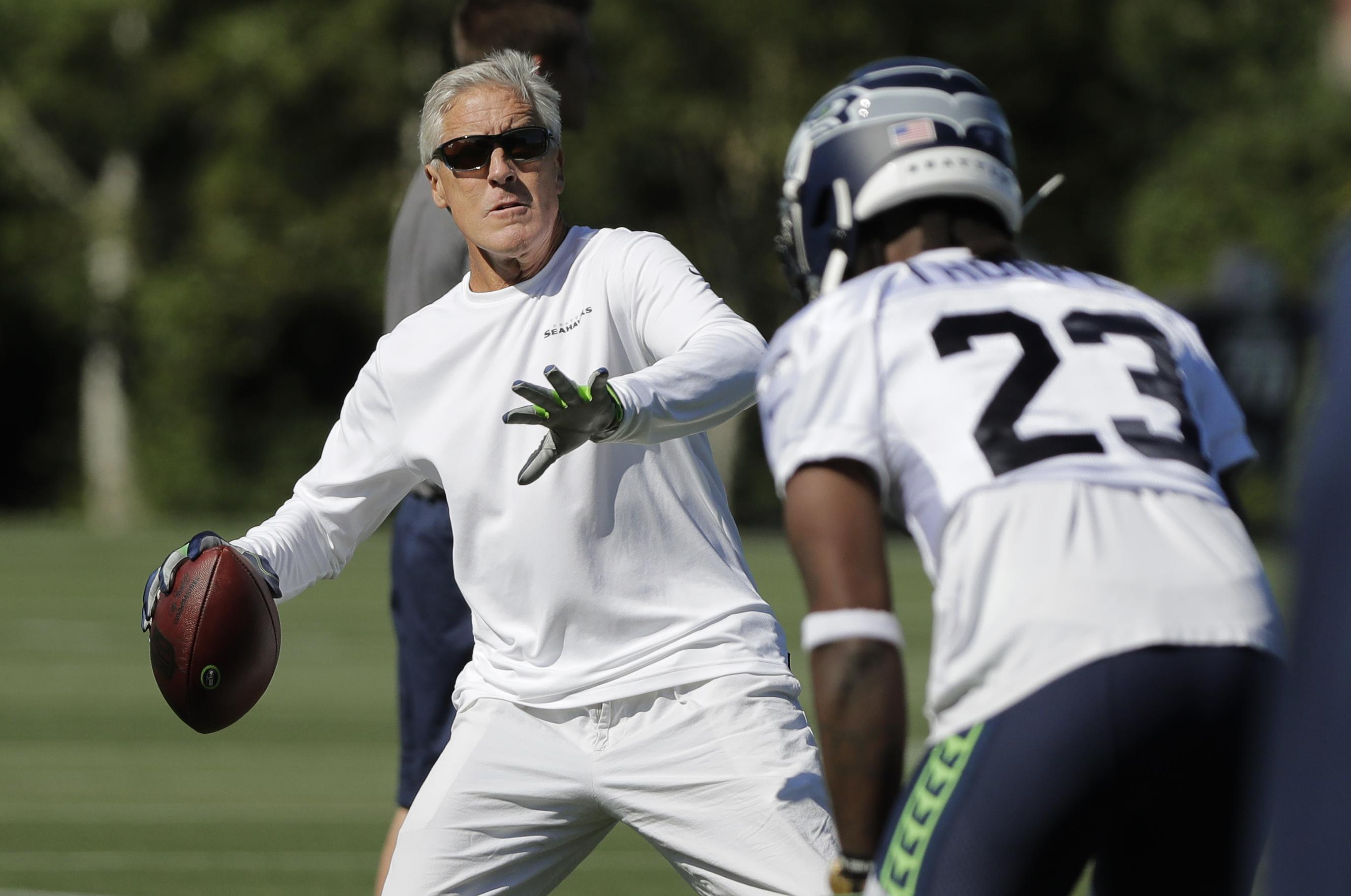 best loved c787a 576c3 Larry Stone: As Seahawks training camp opens, with issues to ...