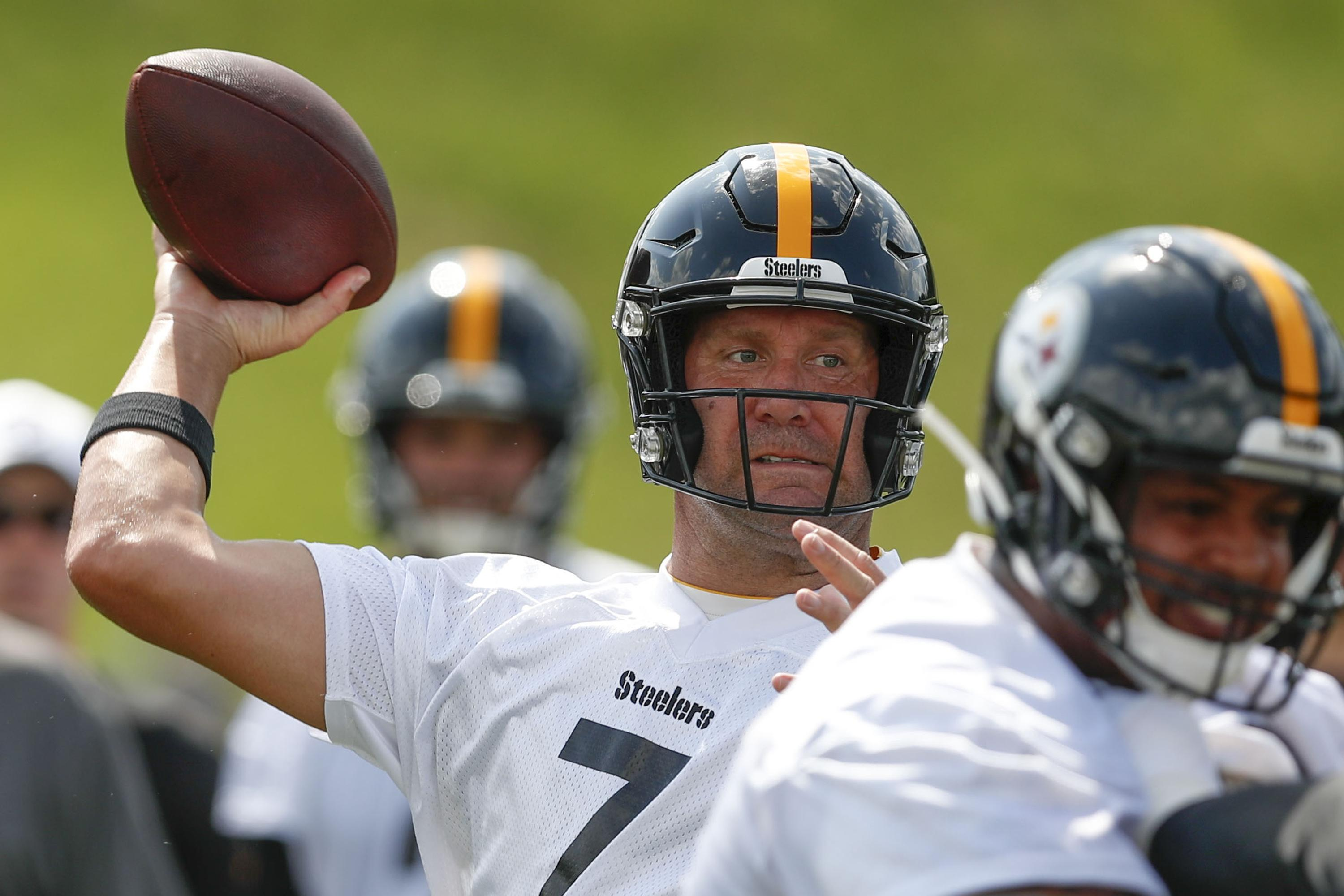 new arrivals 76445 3f88a Ben Roethlisberger, Steelers ready to move on from Antonio ...
