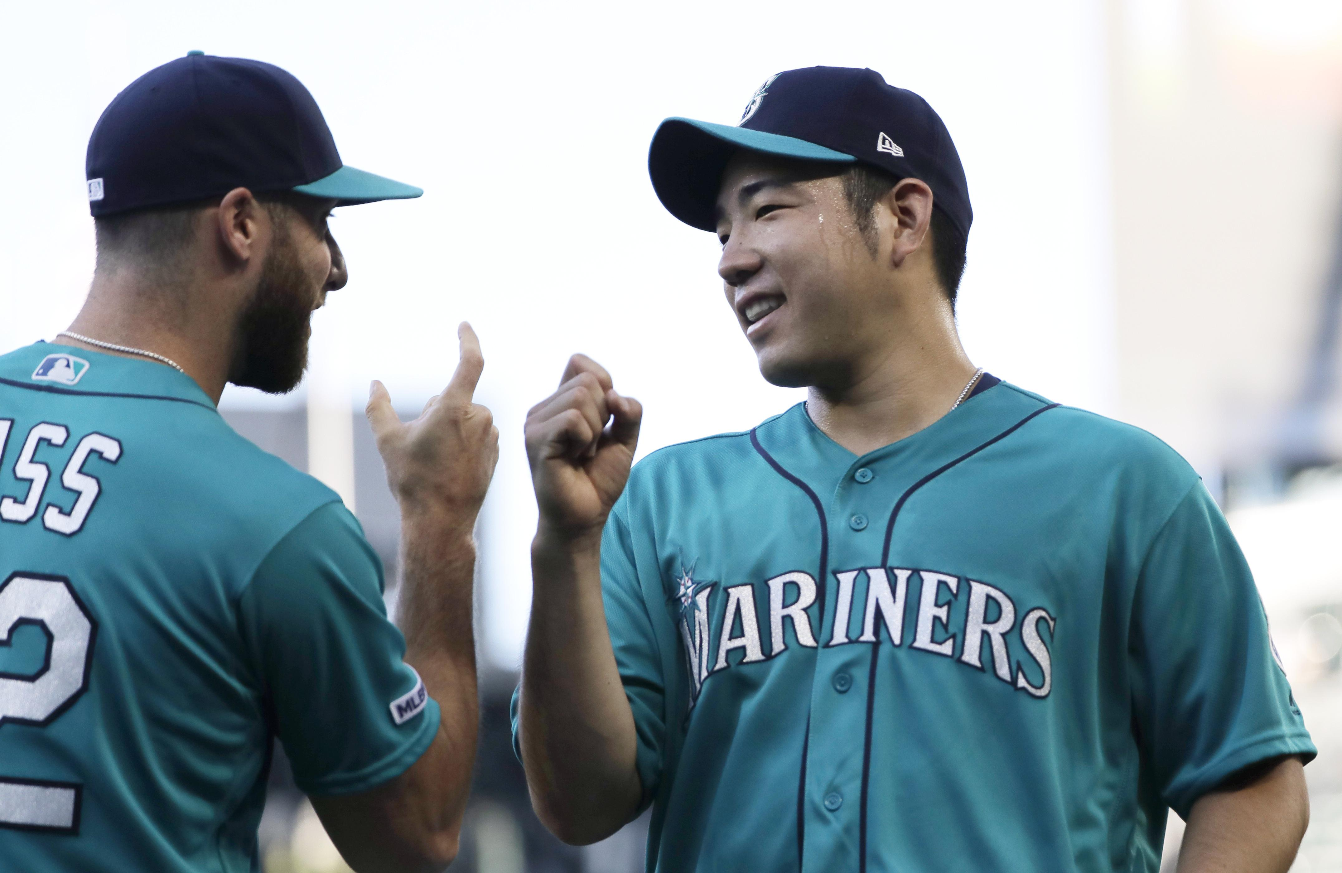 Rookies Court, Nola each drive in 3, Mariners top Tigers Saturday