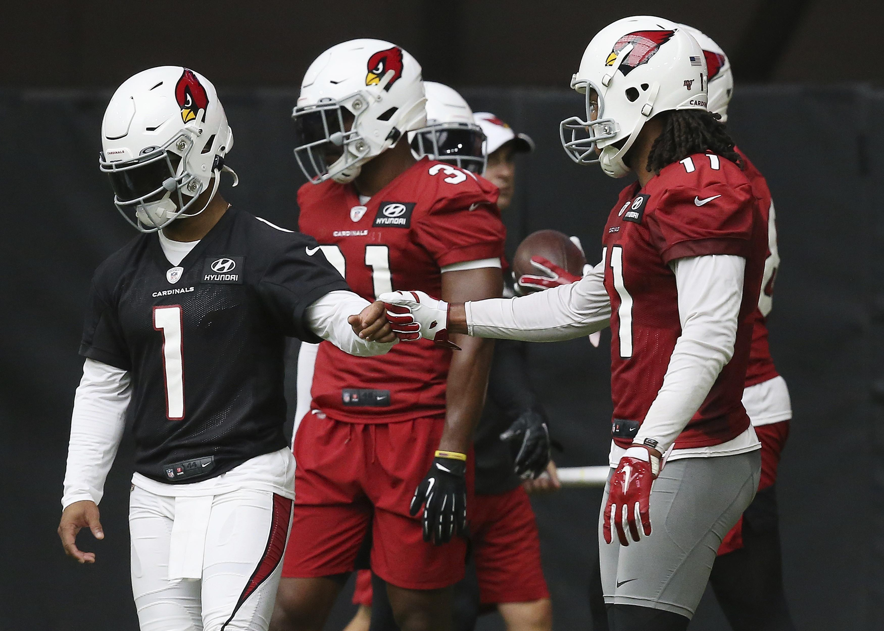 c4862ab2 Kyler Murray already turning heads at Cardinals camp | The Spokesman ...