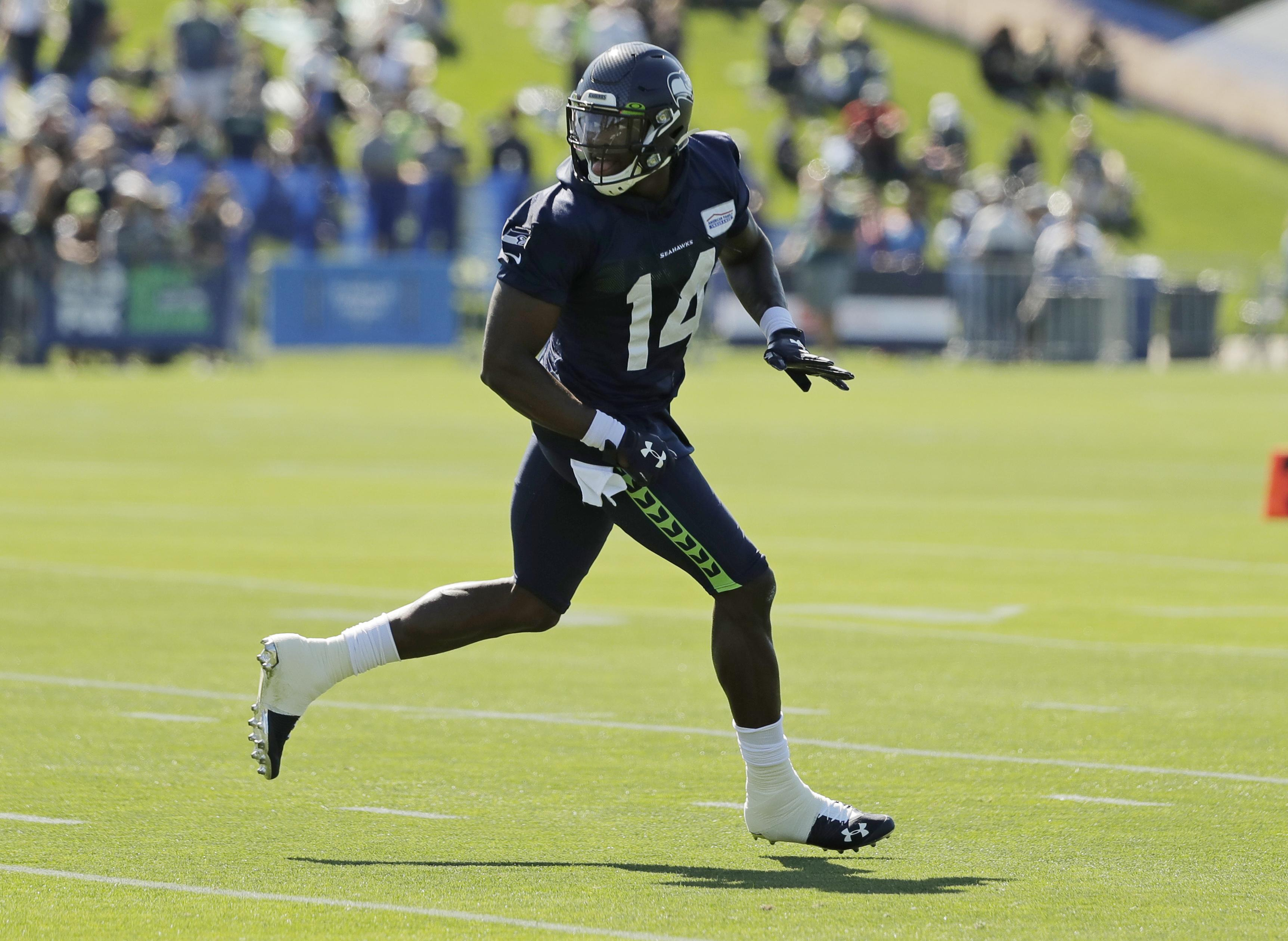 DK Metcalf settling into first Seattle Seahawks camp   The ...
