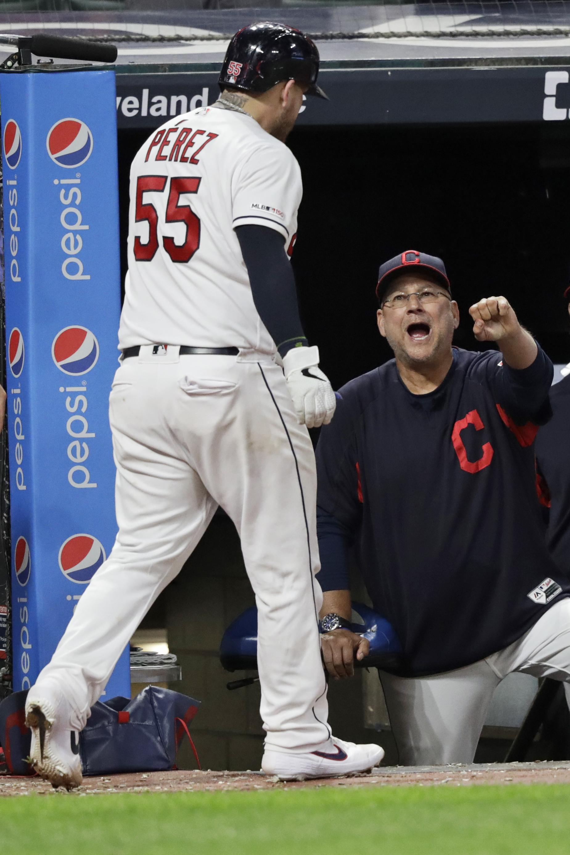 Indians manager Terry Francona has eye surgery, misses game