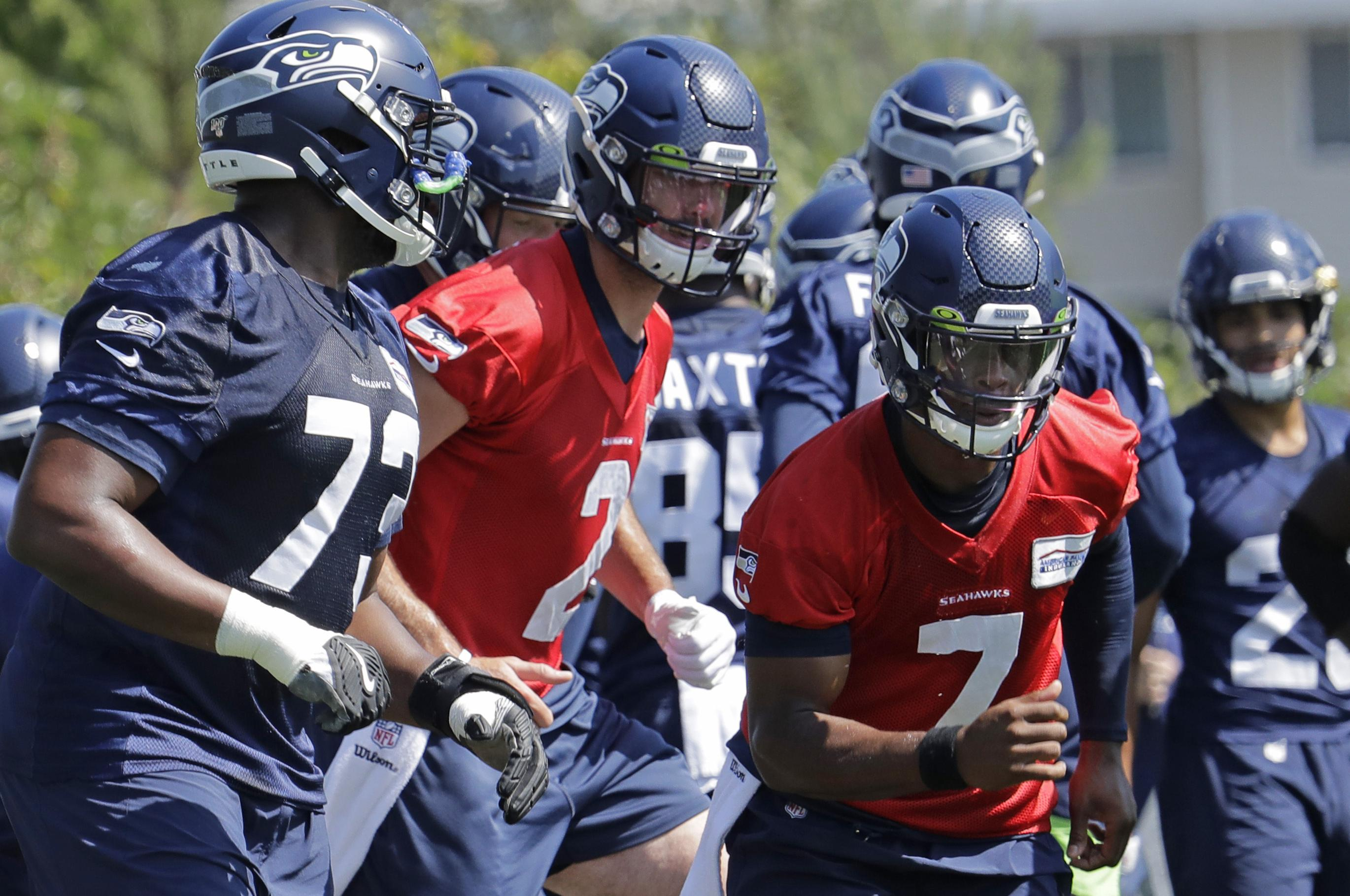 Geno Smith Paxton Lynch Competing For Backup Qb Spot With