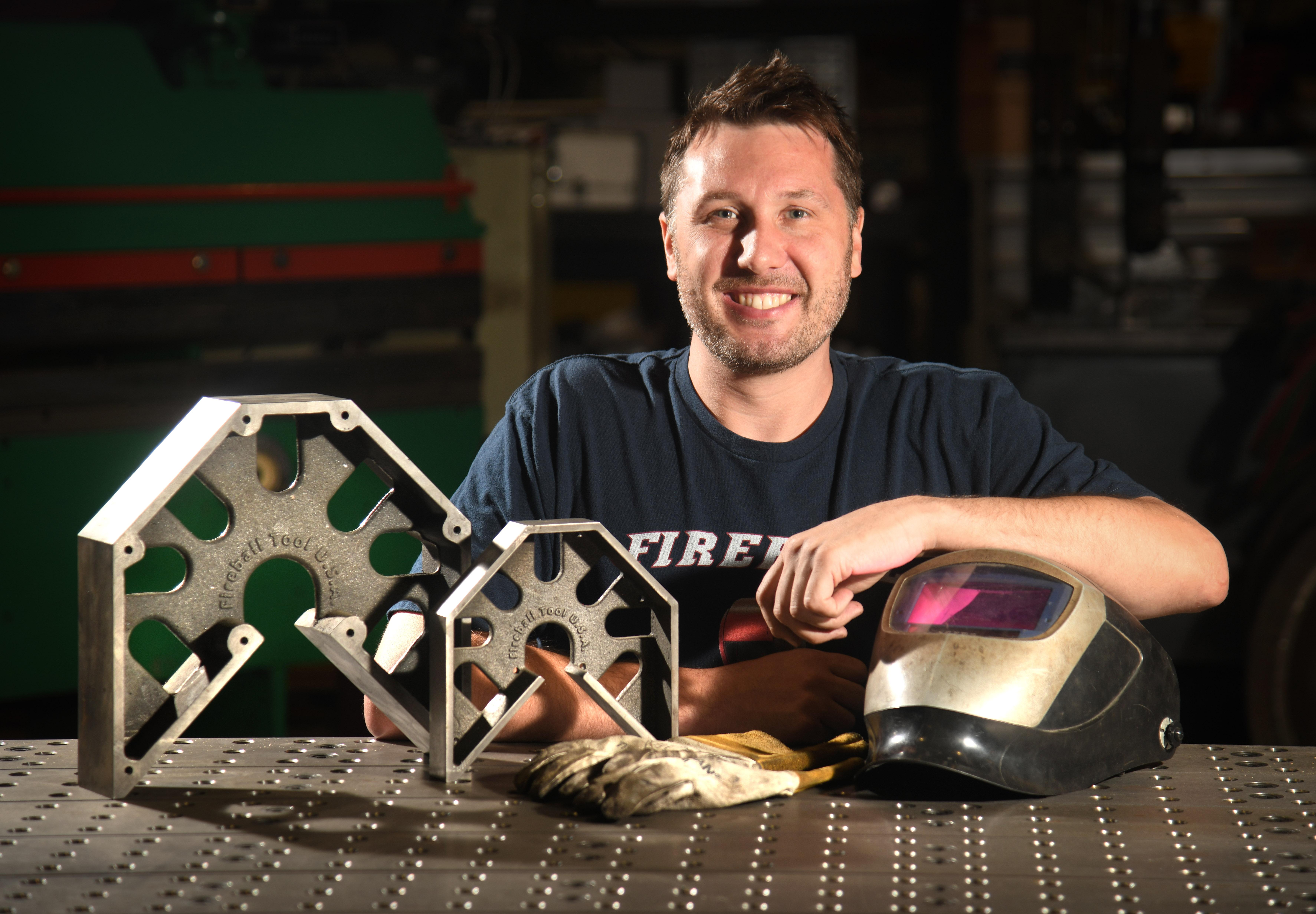 Front & Center: Welder's invention a hot commodity | The Spokesman