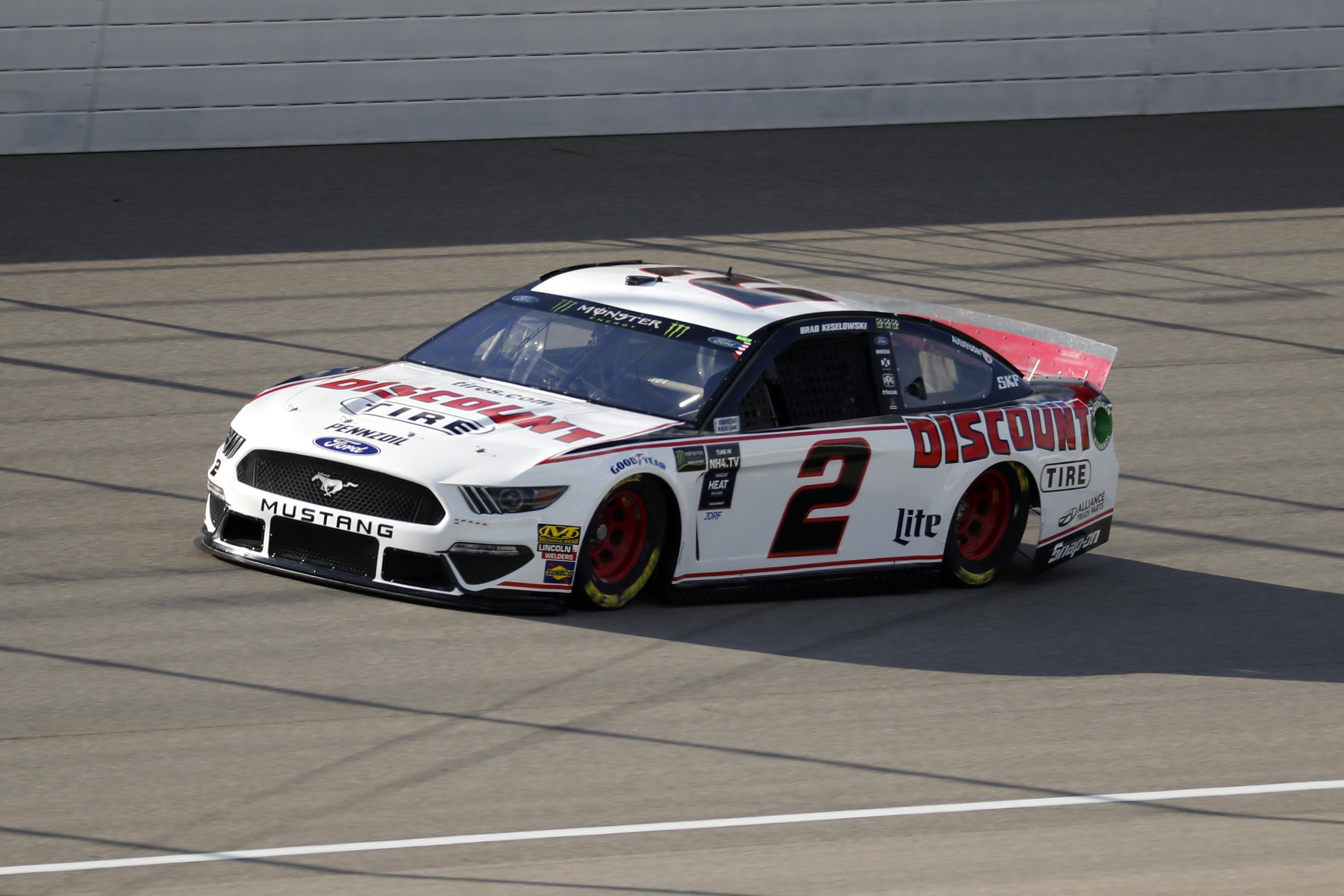 Brad Keselowski wins pole for NASCAR Cup race at Michigan | SWX