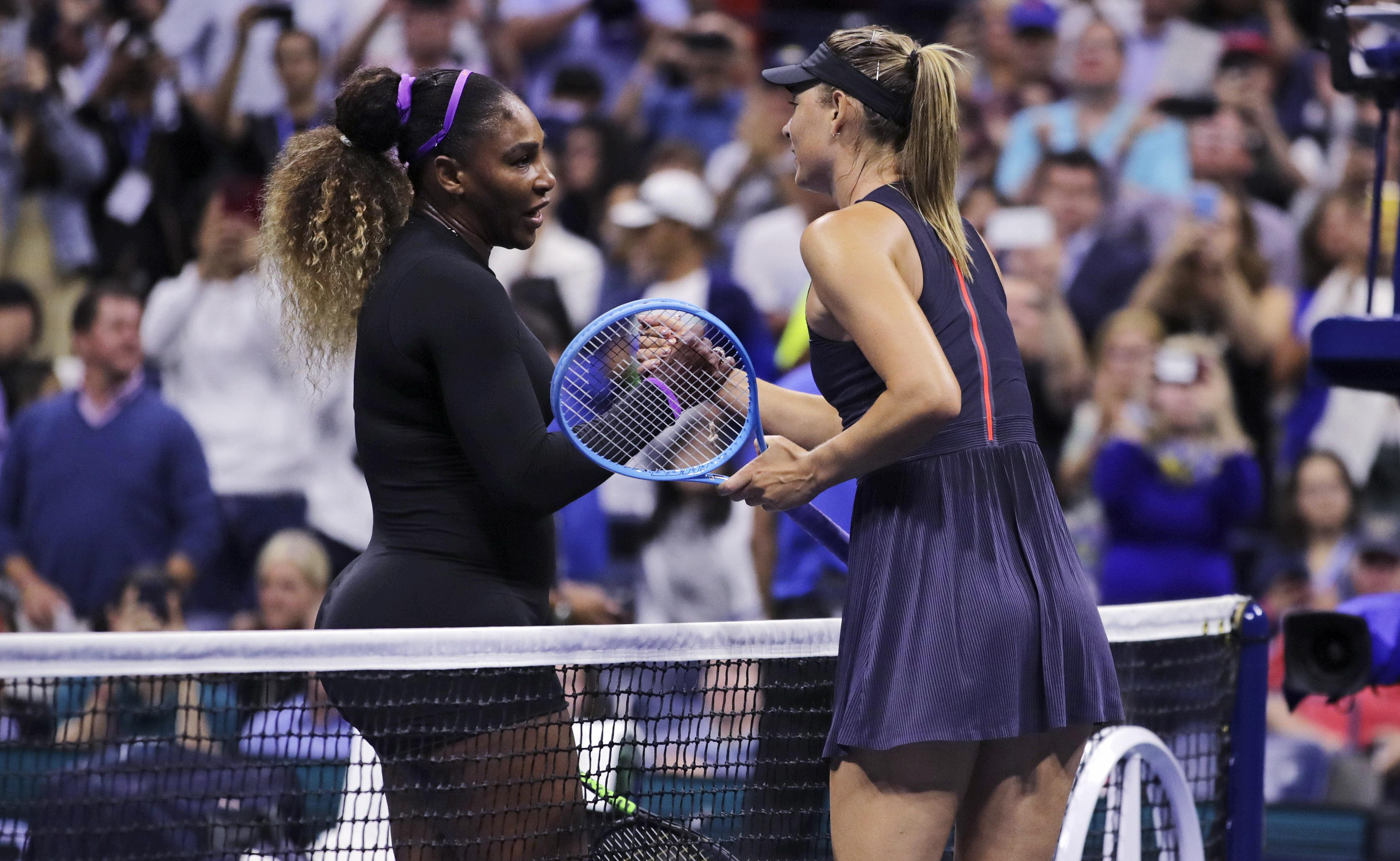 Serena Williams hands Maria Sharapova a 58-minute beat down
