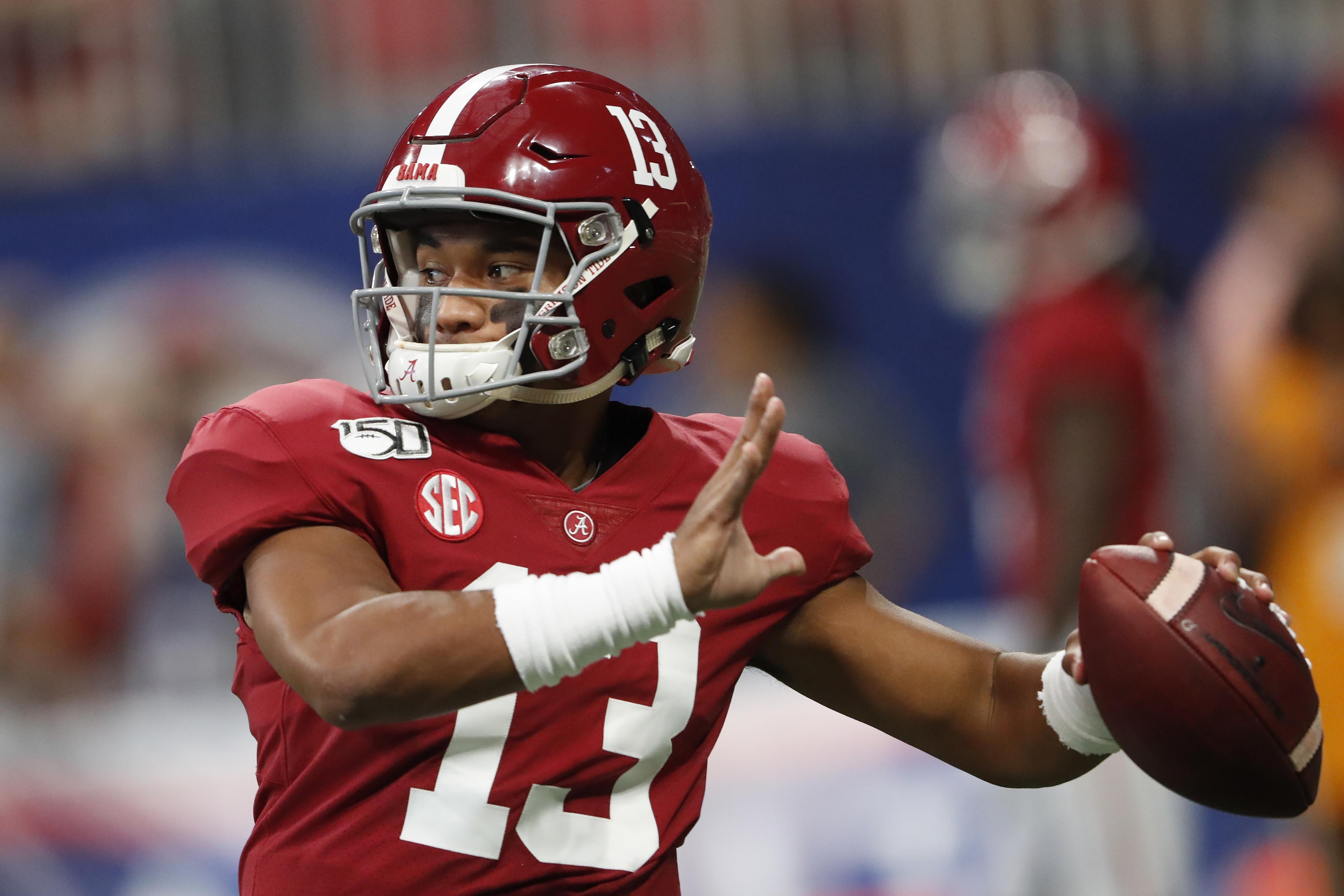 online store 17ee8 5b8ee Top-25 football roundup: Tua Tagovailoa helps No. 2 Alabama ...