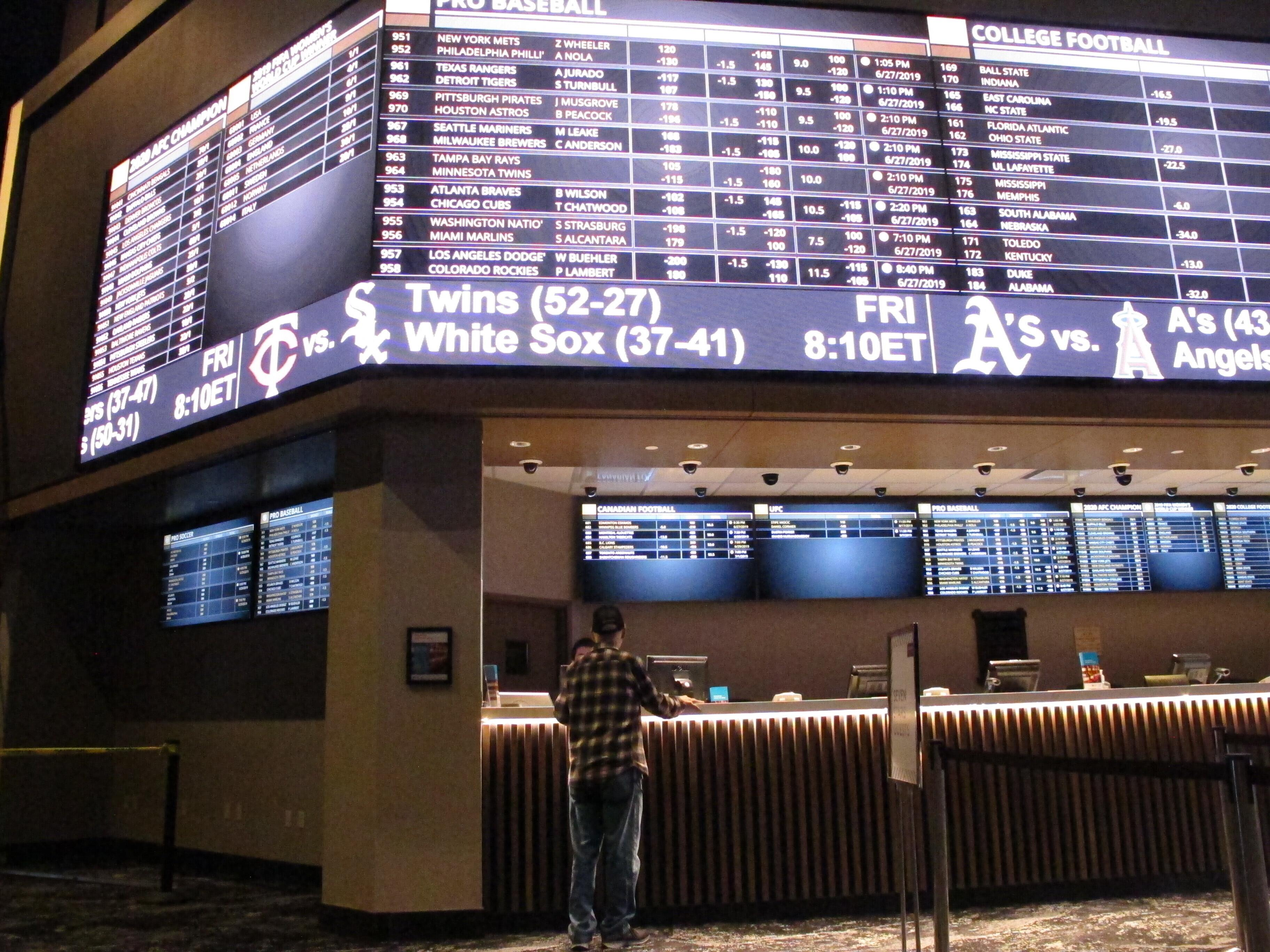 Sports Betting in the US Grows at the Pace of Football
