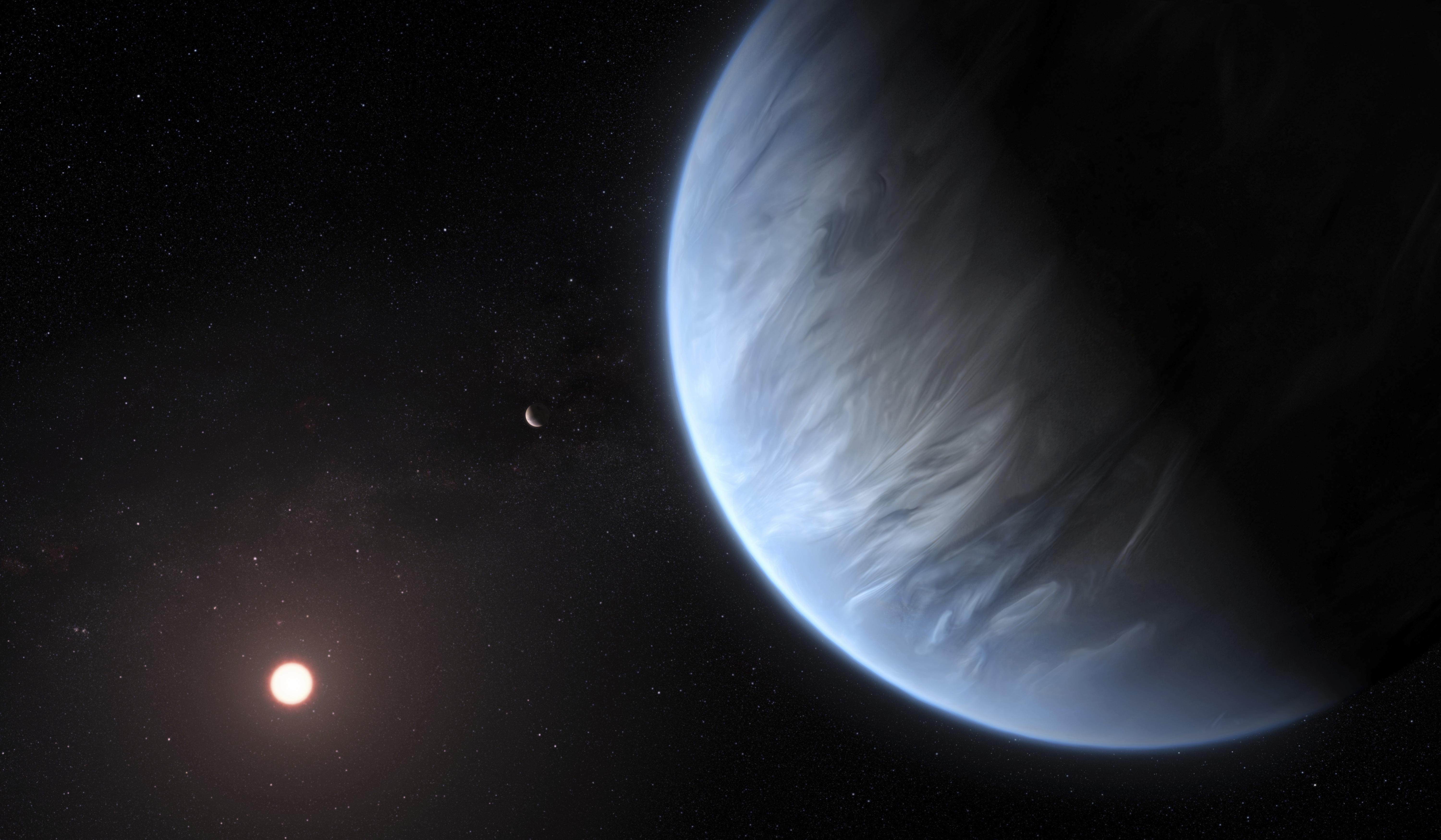 K2-18b: researchers find for the first time, water on other planets