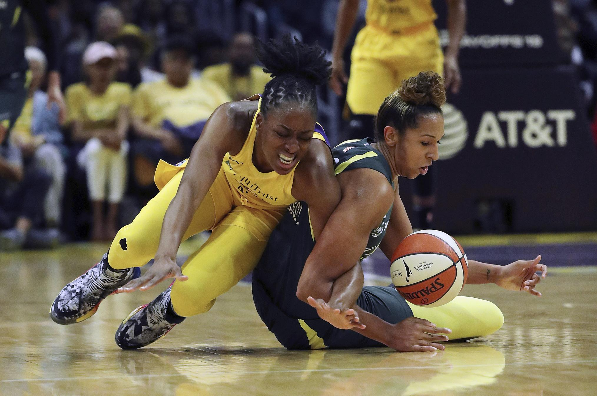 Los Angeles Sparks Eliminate Seattle Storm From WNBA Title