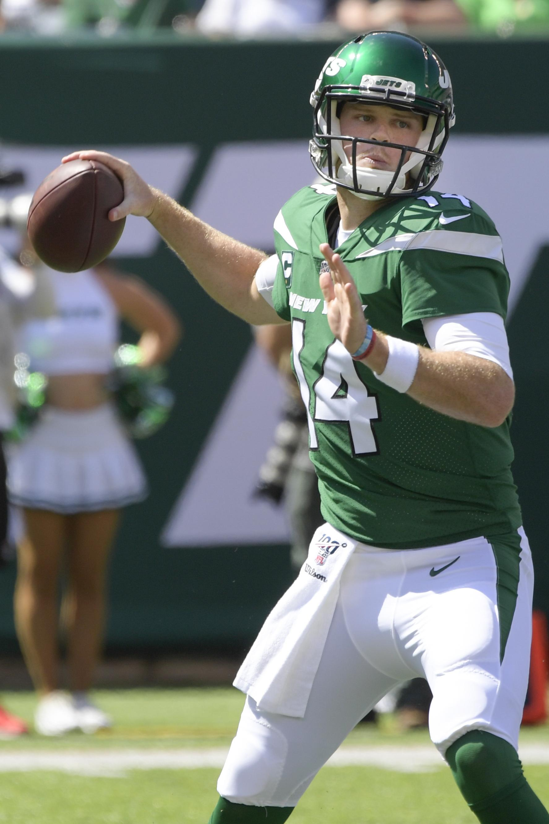 quality design 35169 42127 Jets' Sam Darnold hopes to return to field in Week 5 vs ...