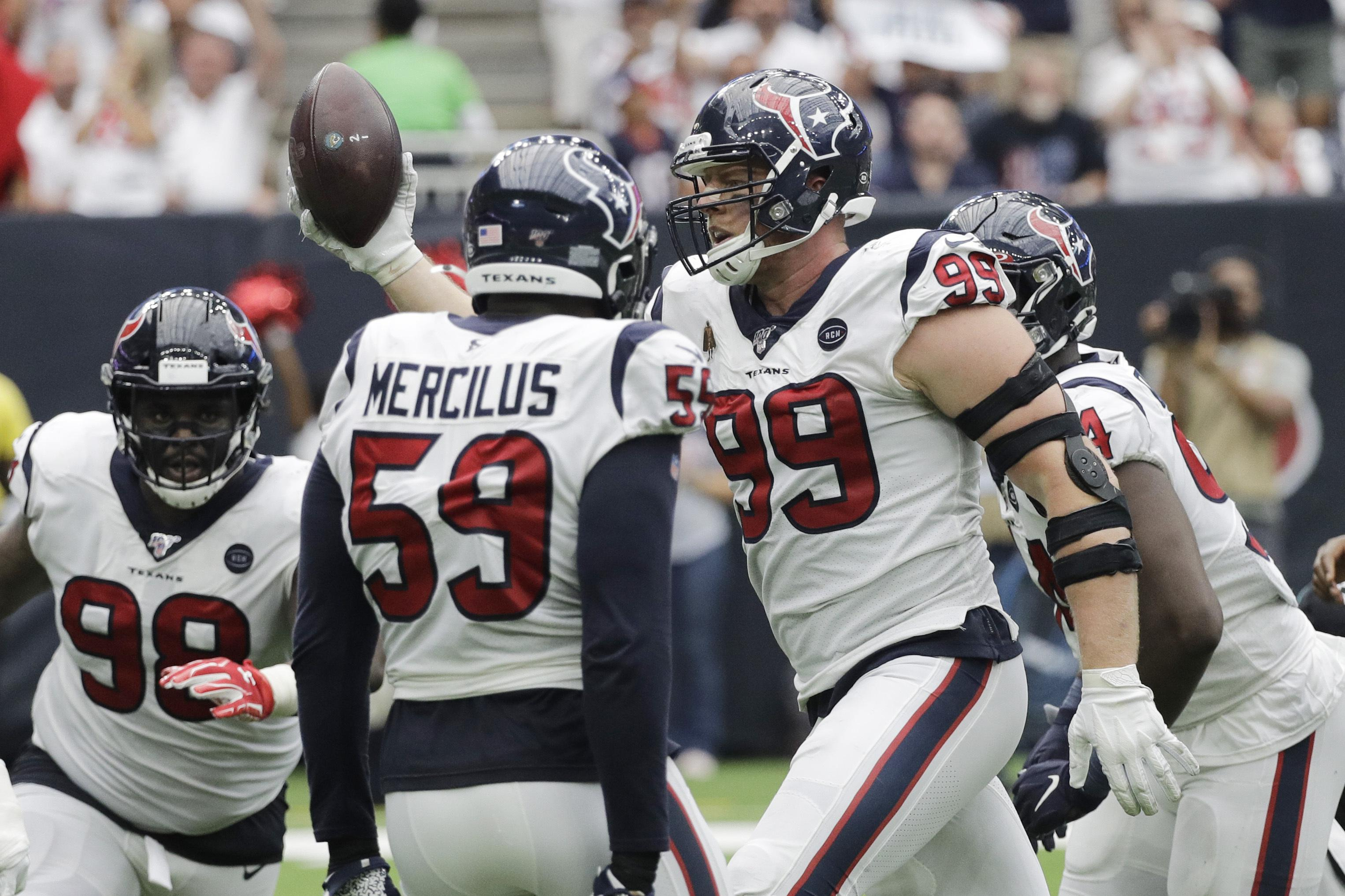 Oh Brother J J Derek Watt Face Each Other For First Time