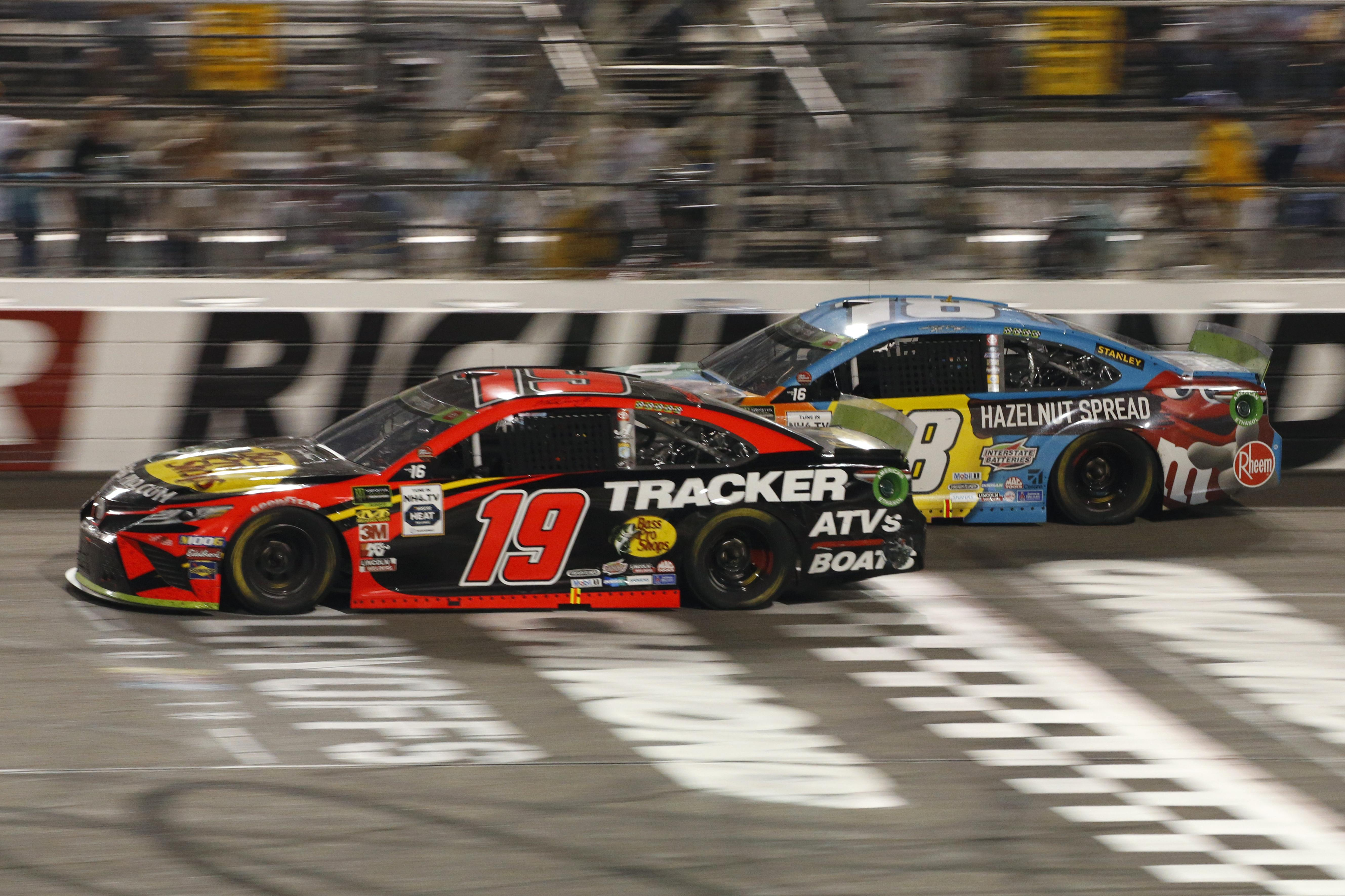 Truex wins again at Richmond; Gibbs's Jones disqualified