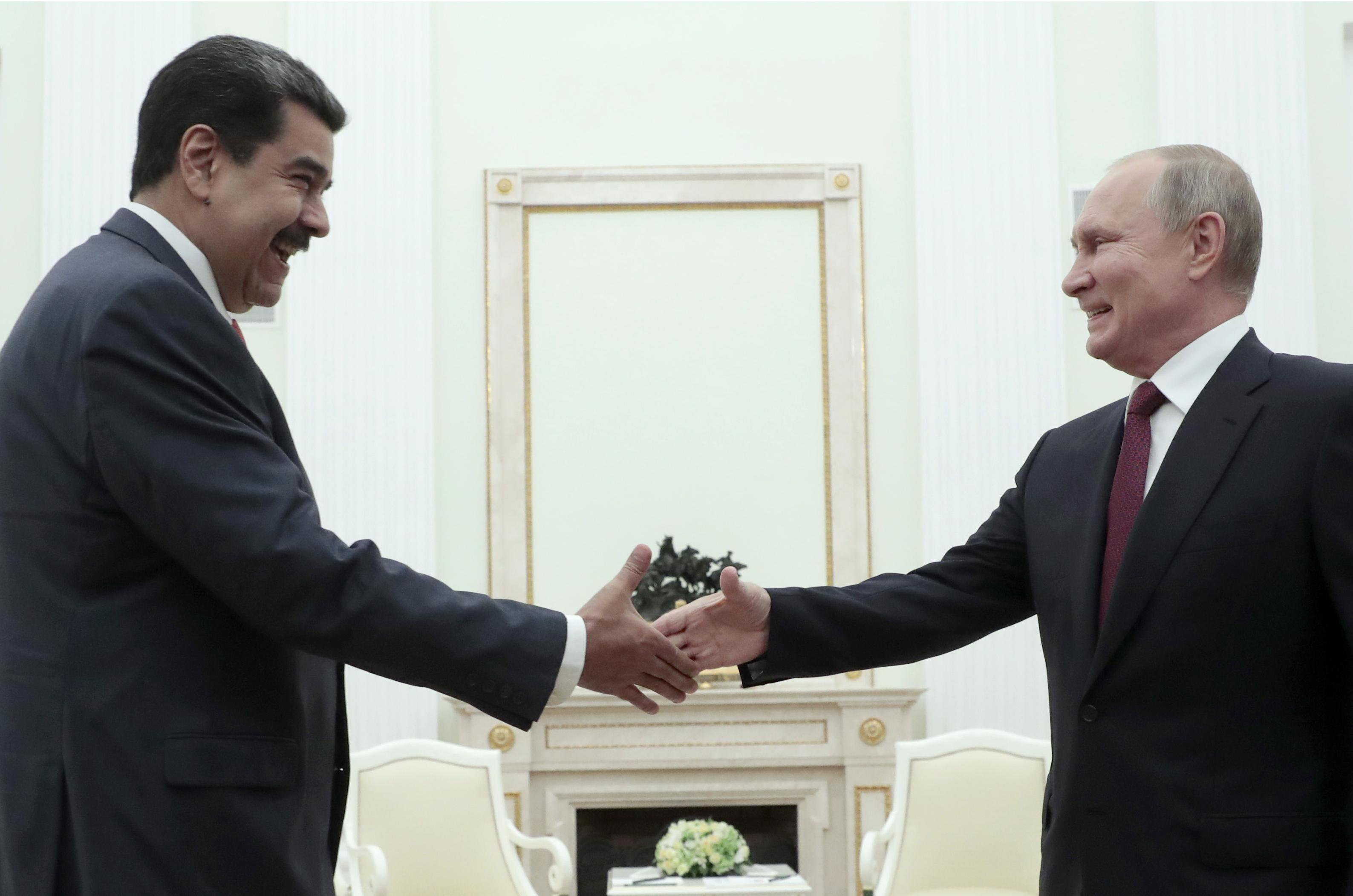 Venezuela's Maduro did not discuss new loans with Putin