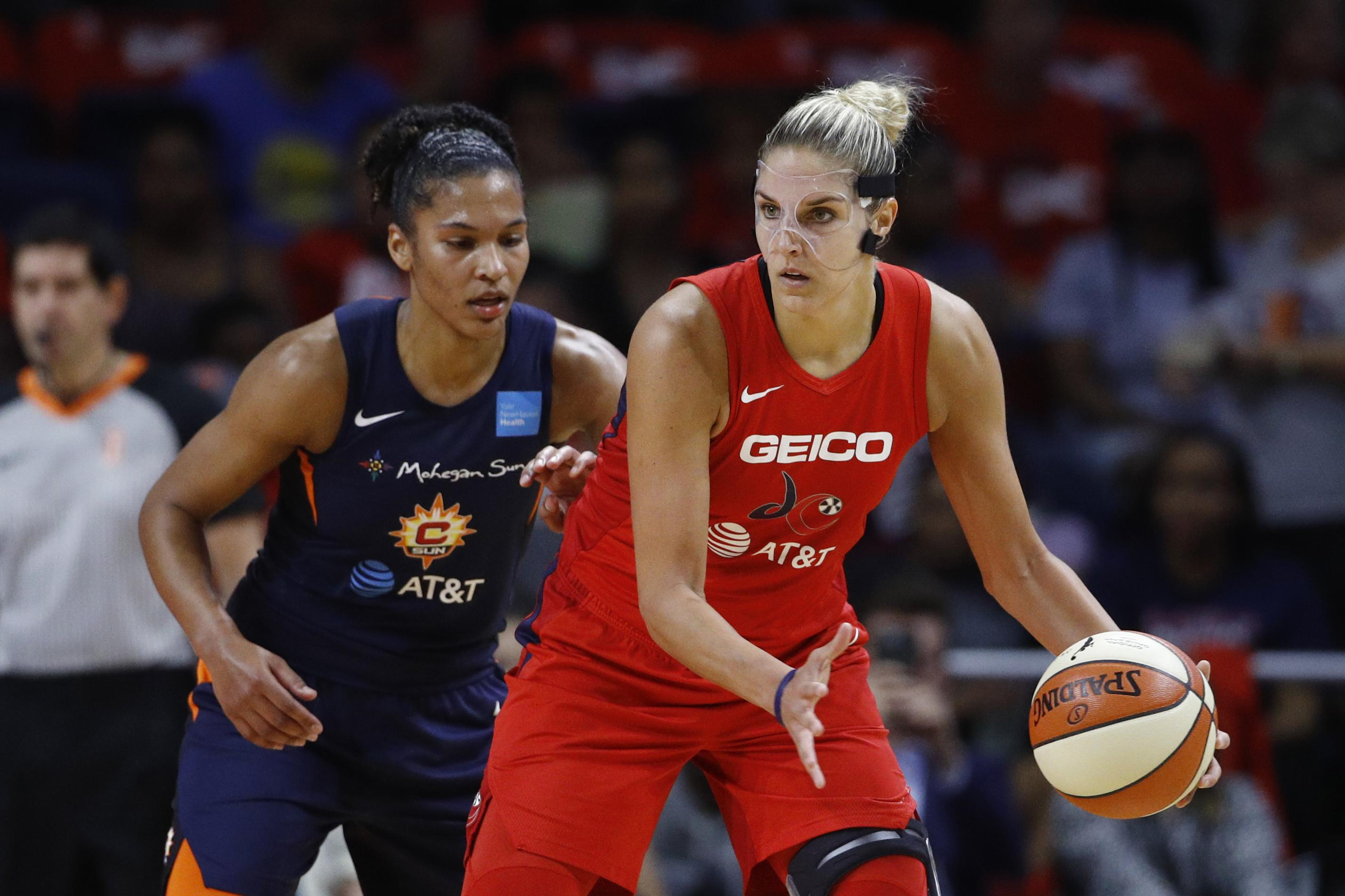 Mystics' Delle Donne has herniated disk in back