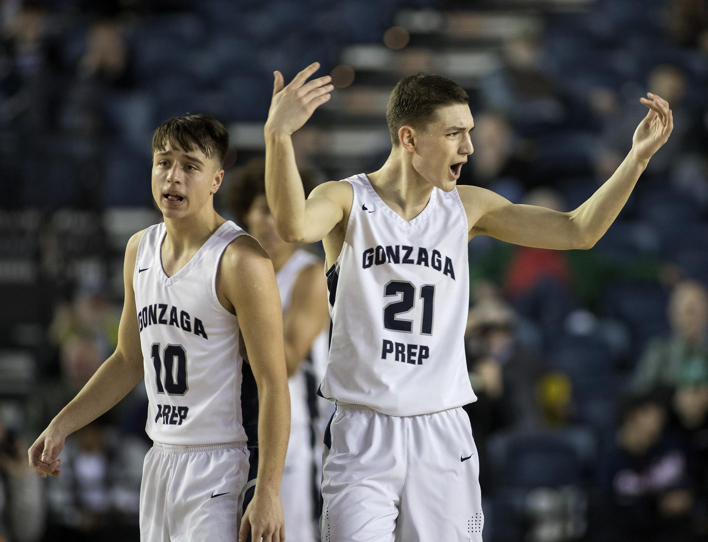 Gonzaga Prep S Liam Lloyd Gives Oral Commitment To Grand