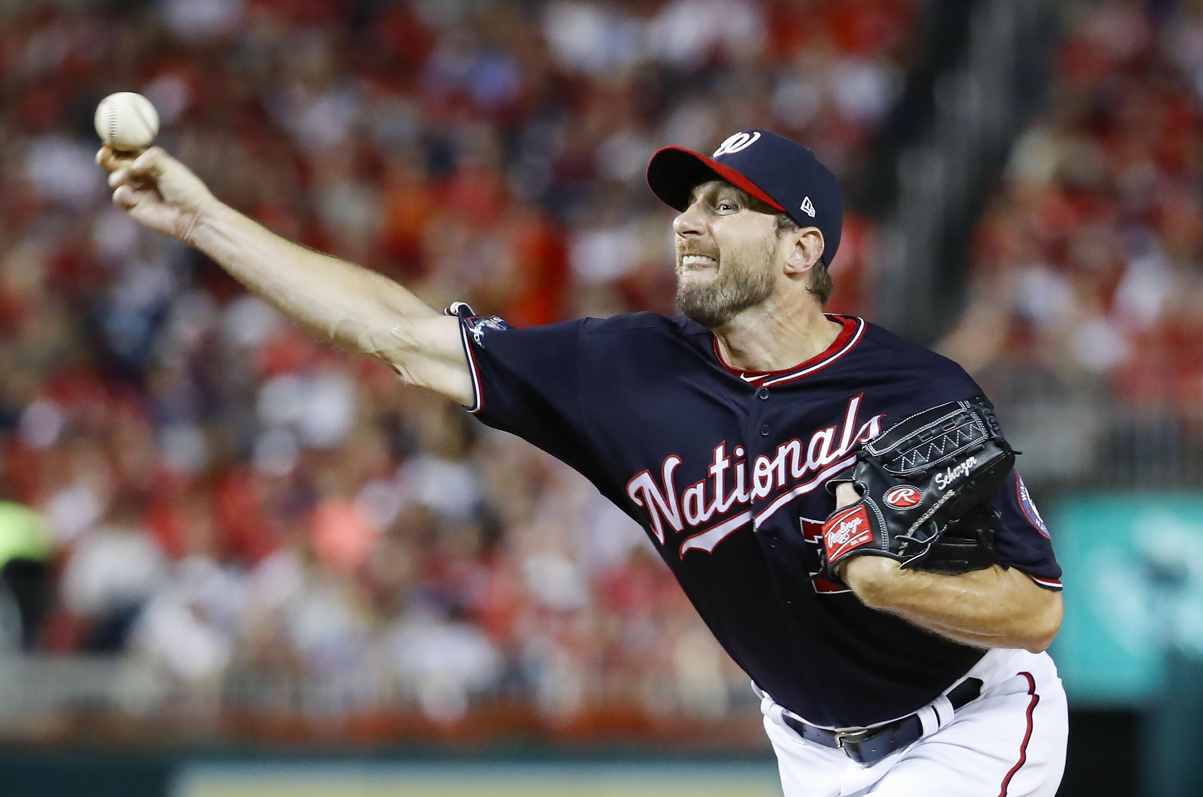 Max Scherzer Ryan Zimmerman Lead Nationals Past Dodgers To