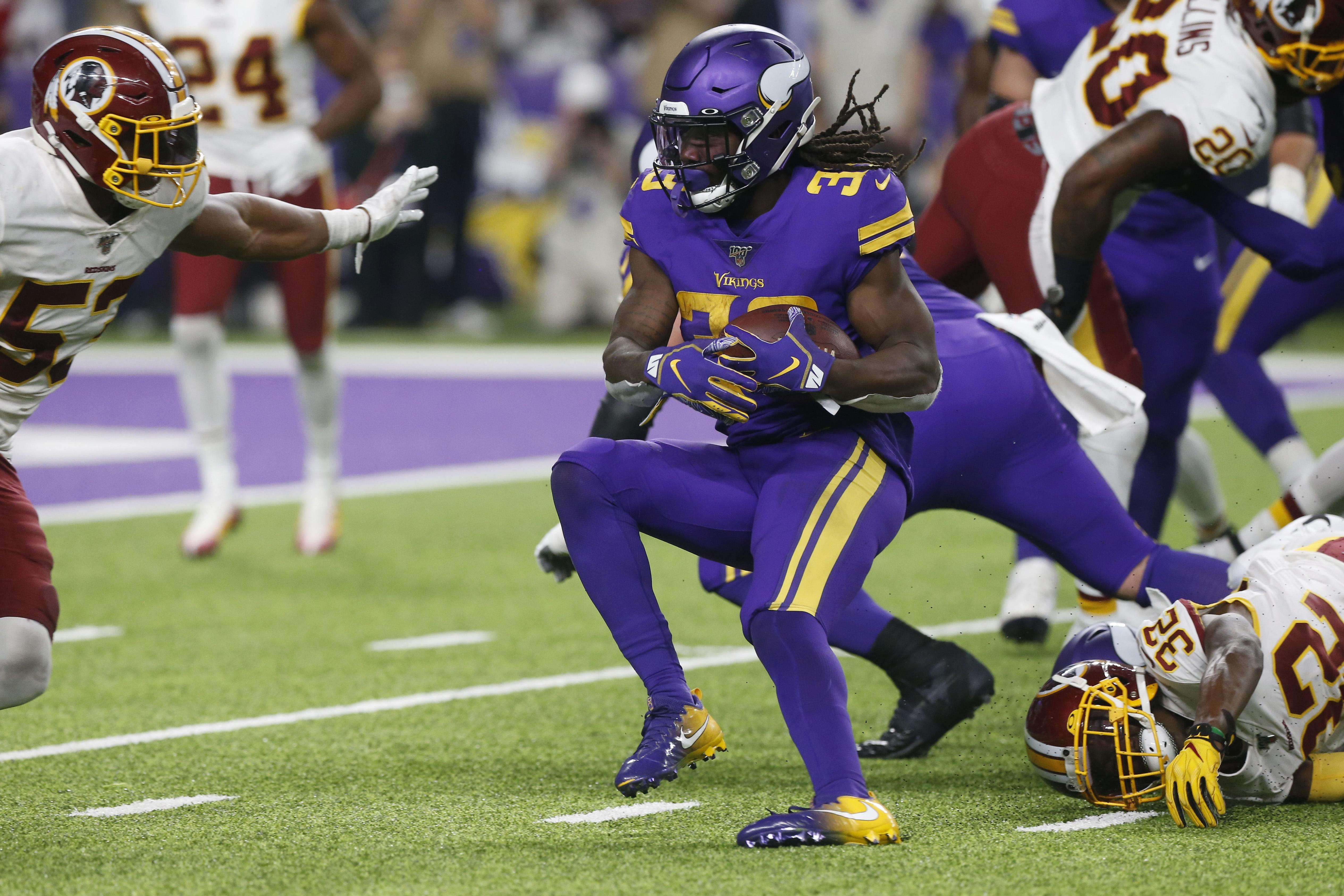 Dalvin Cook Vikings Wear Down Redskins 19 9 For 4th