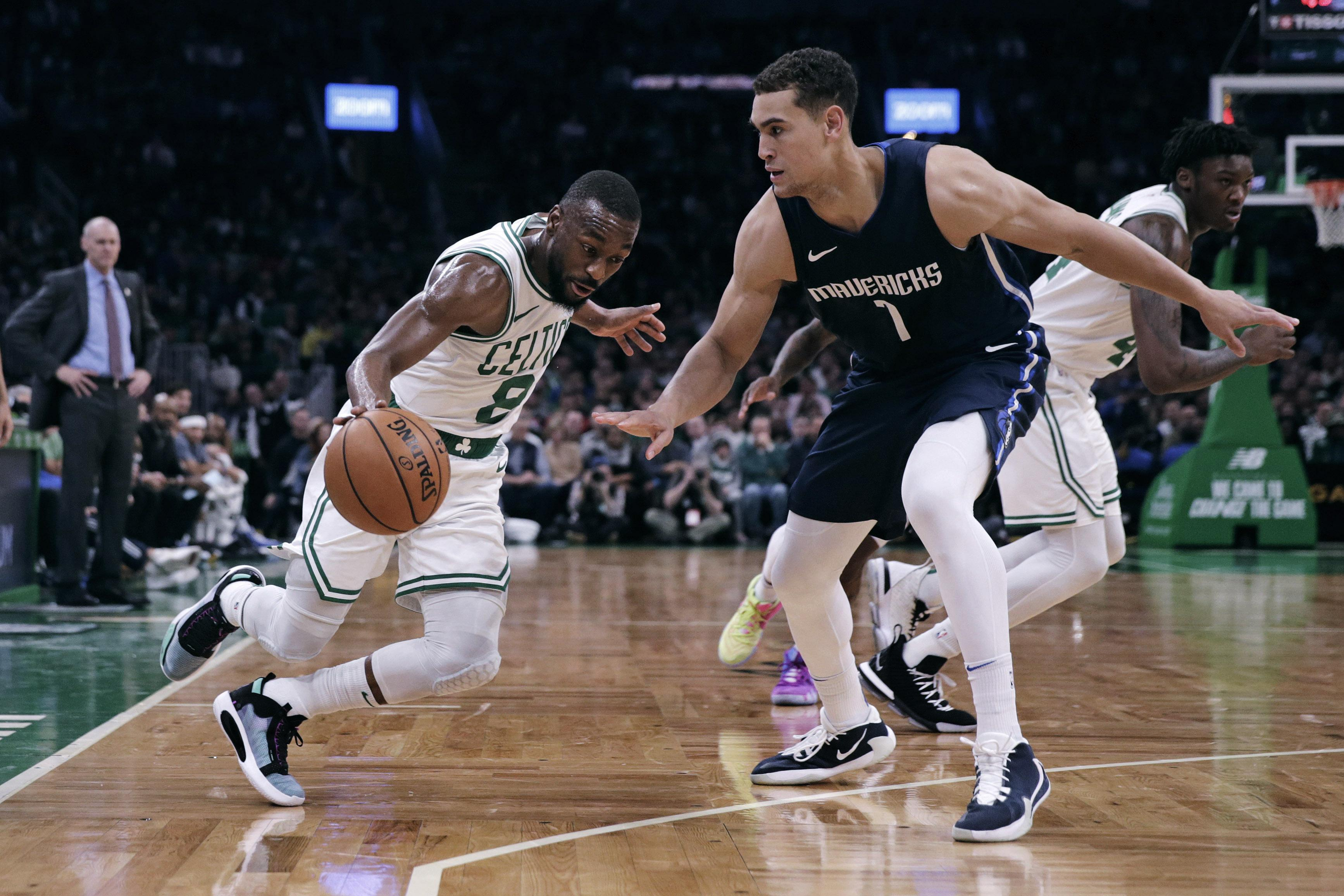 Nba Roundup Kemba Walker Sparks Celtics Past Mavericks