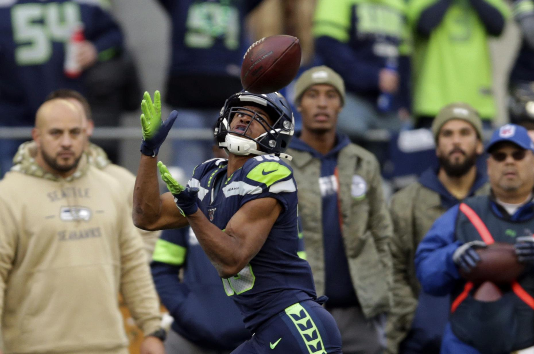 Seahawks Hope Tyler Lockett Will Be Ready For Sunday S Game