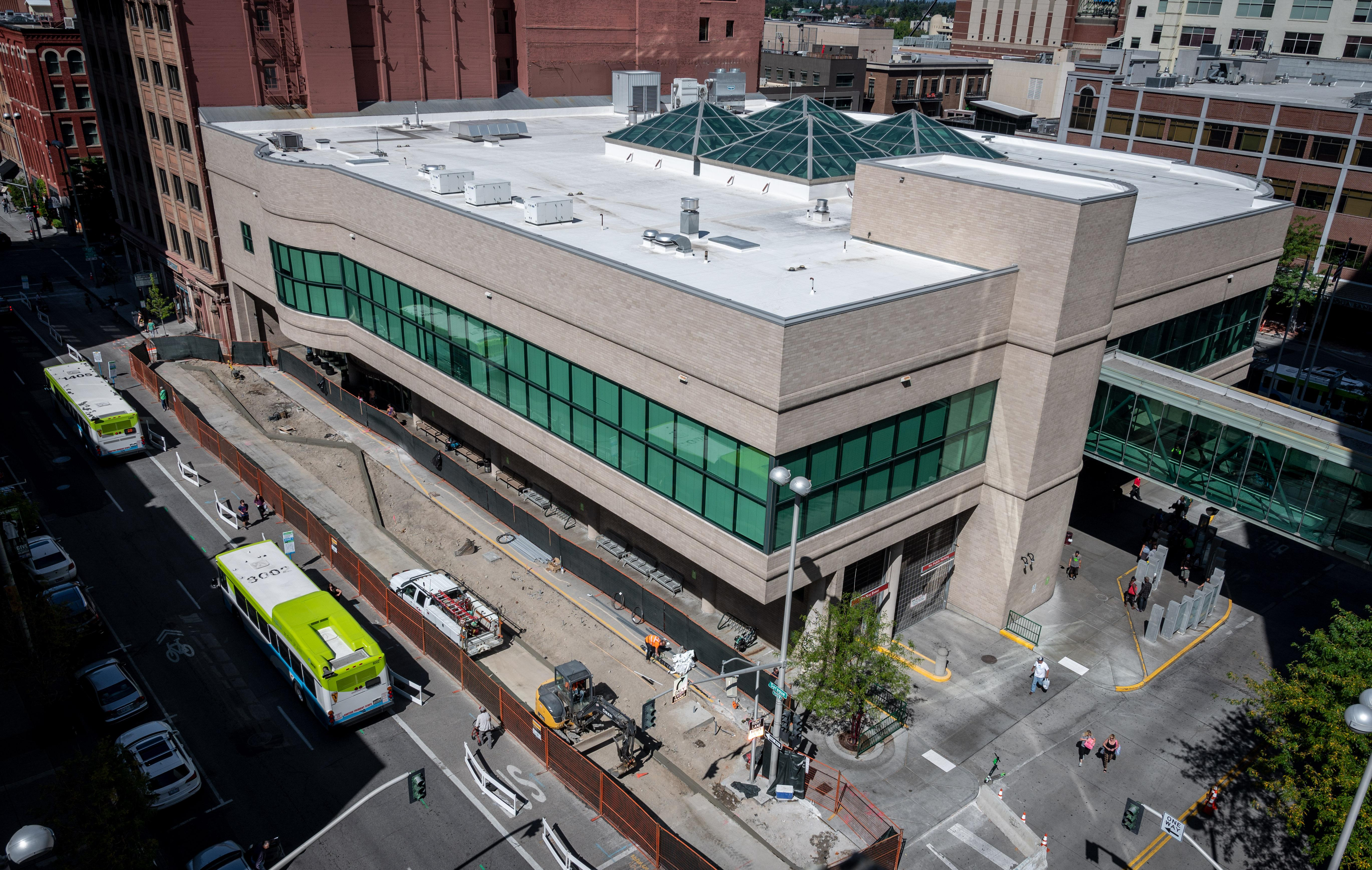 Spokane Public Library To Open Temporary Downtown Branch In