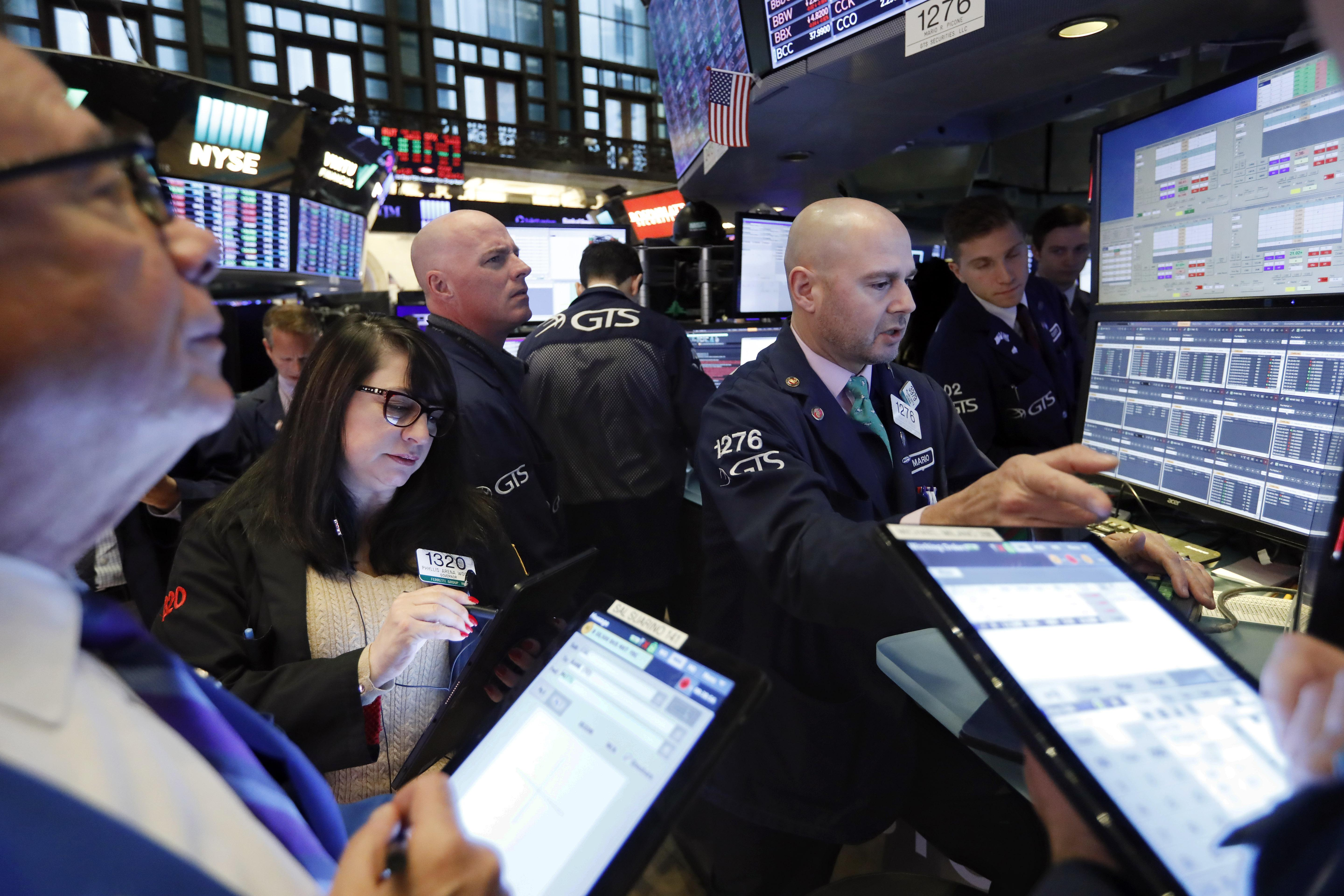 United States stocks end higher amid trade hopes