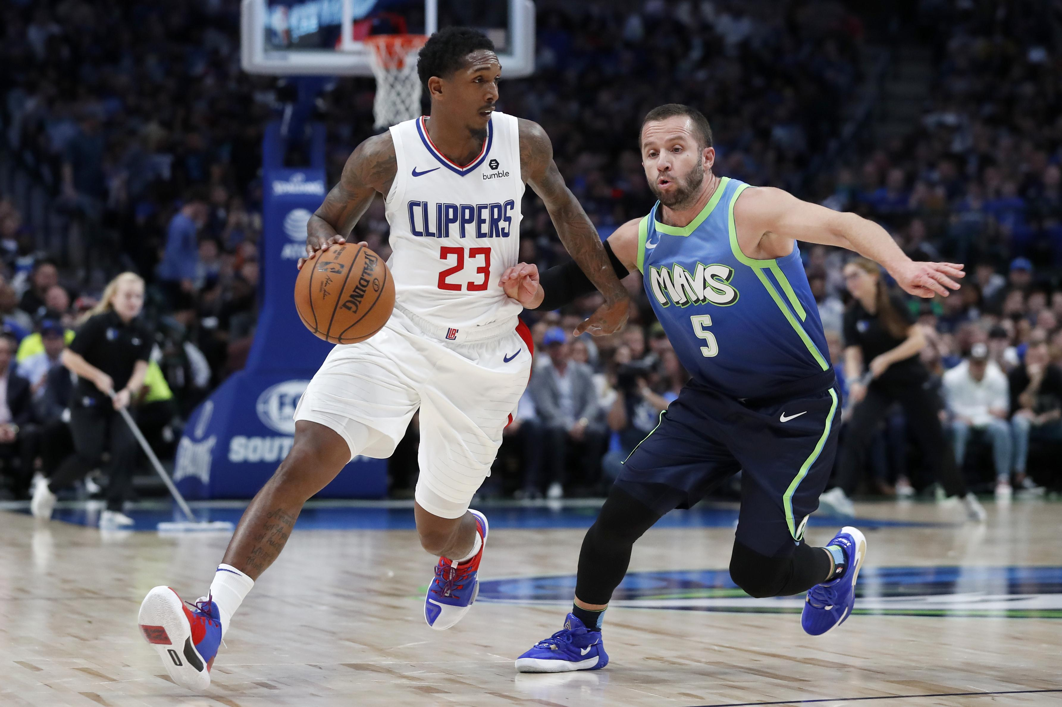Nba Roundup Paul George Clippers Stop Luka Doncic Mavs