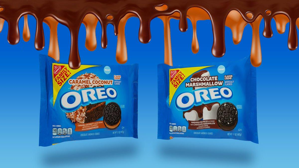 Oreo Announces Two New Flavors Caramel Coconut And