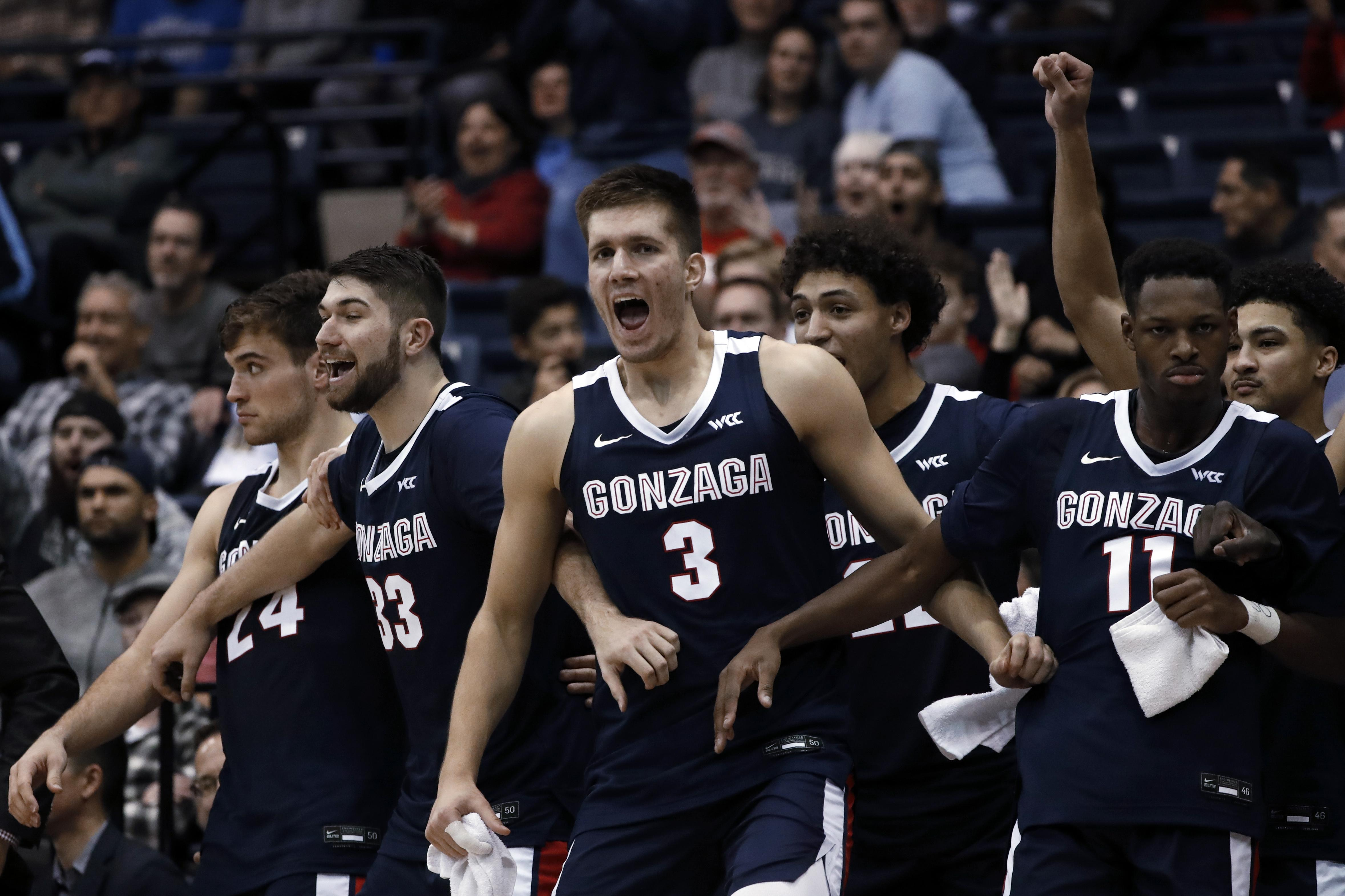 Analysis Top Ranked Gonzaga Faces Little Resistance In 94