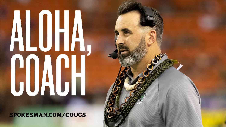Washington State set to name Hawai'i's Nick Rolovich as coach