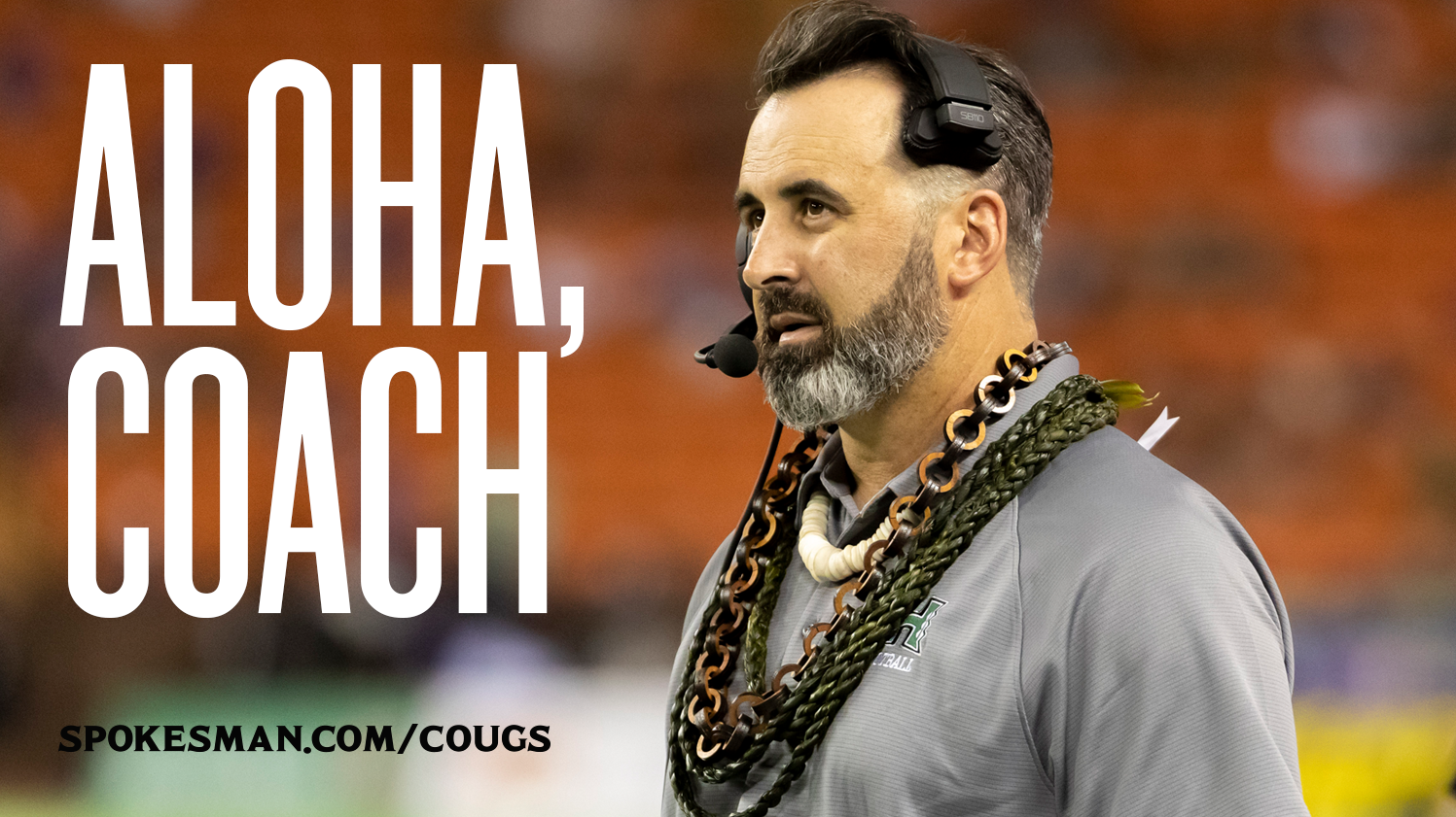 Coach Rolovich leaves UH for Washington St.