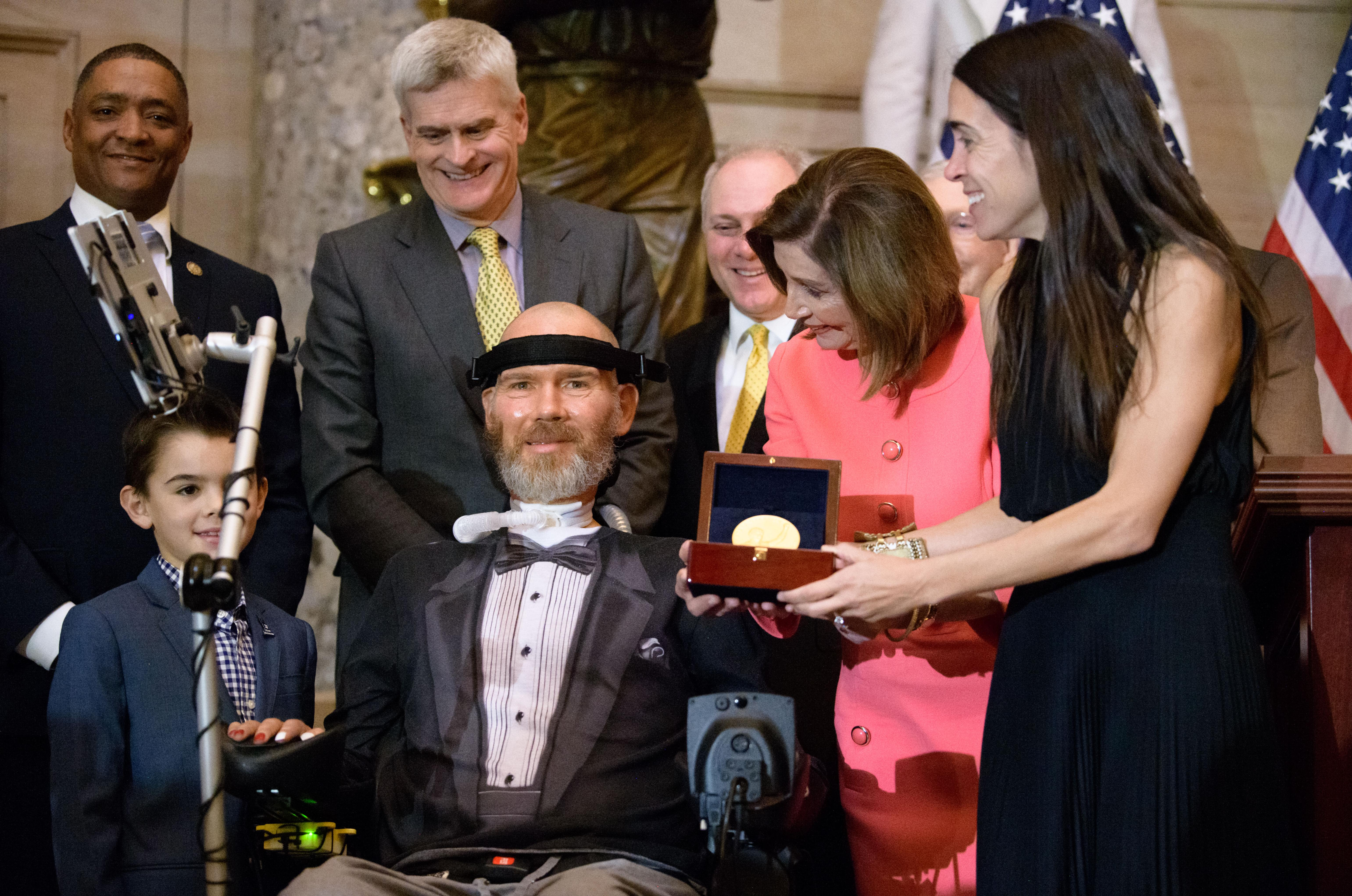 Spokane native Steve Gleason awarded Congressional Gold Medal