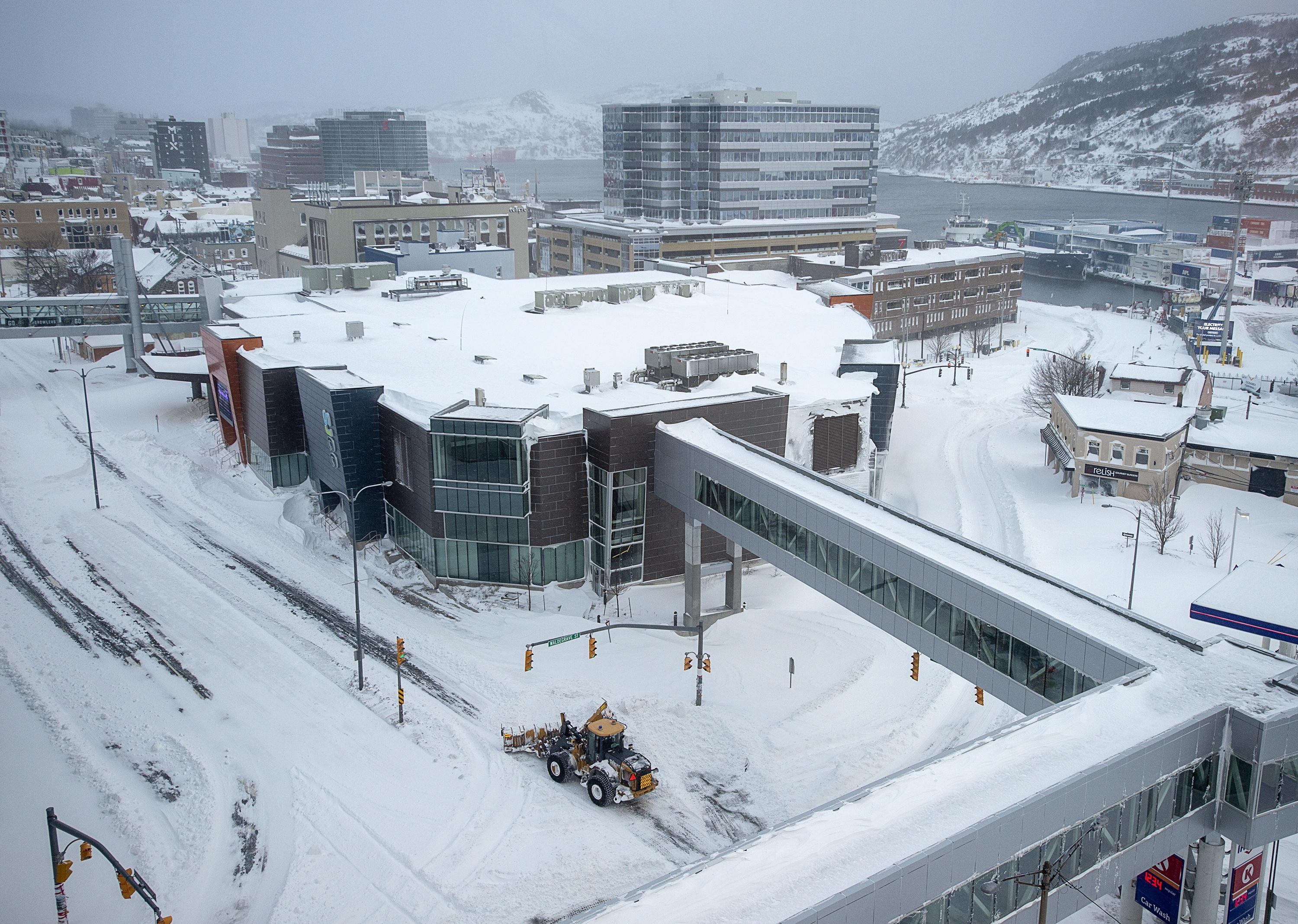 Newfoundland reeling after blizzard buries capital | The