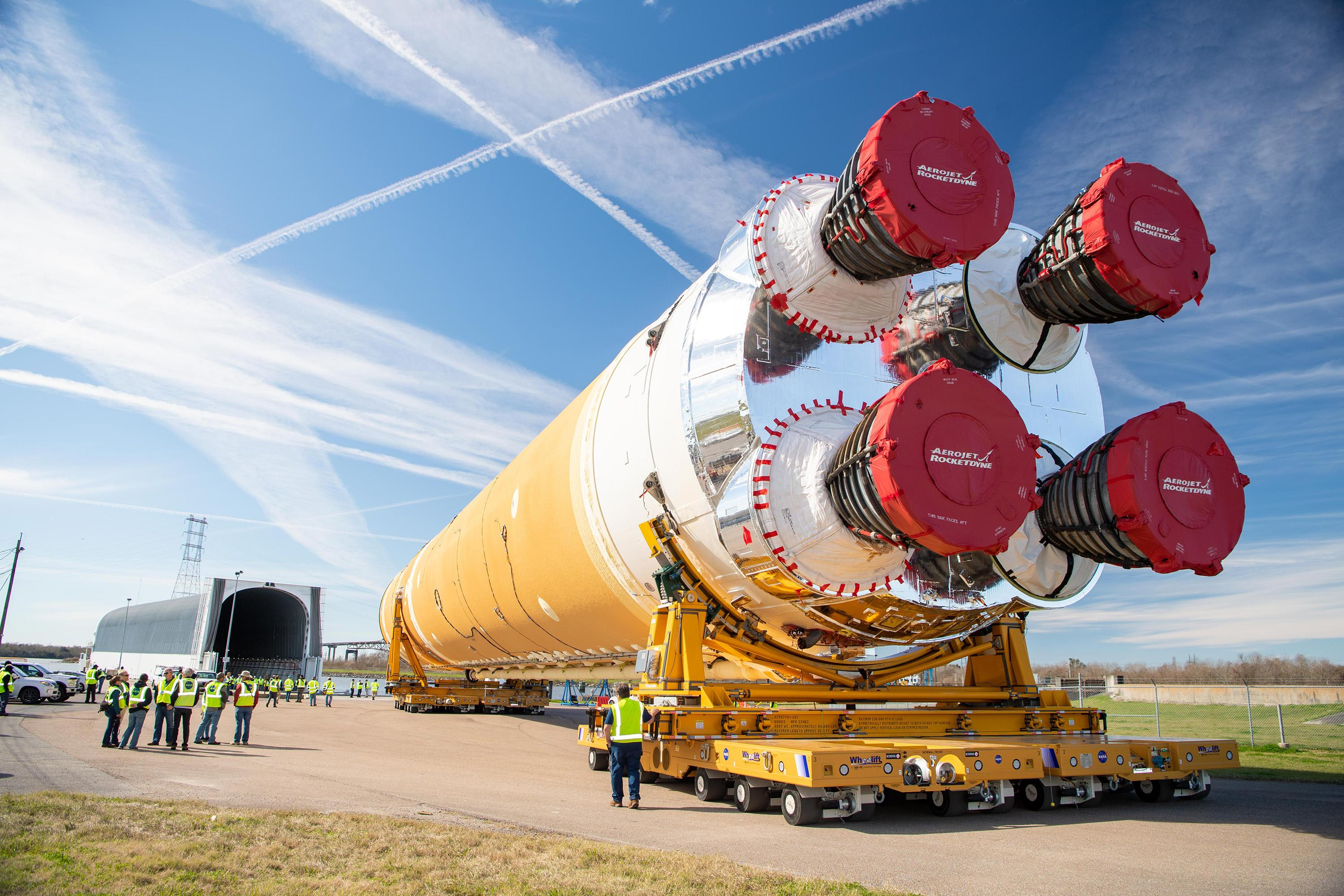NASA's Monster Rocket Is Again Behind Its Schedule