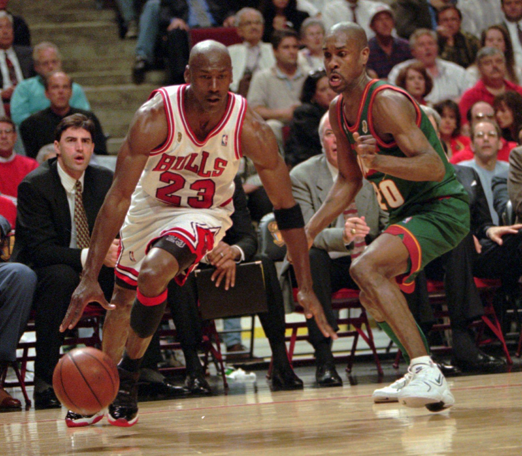 Commentary: Whatever Michael Jordan may have claimed, Gary Payton gave him  fits in 1996 NBA Finals | The Spokesman-Review