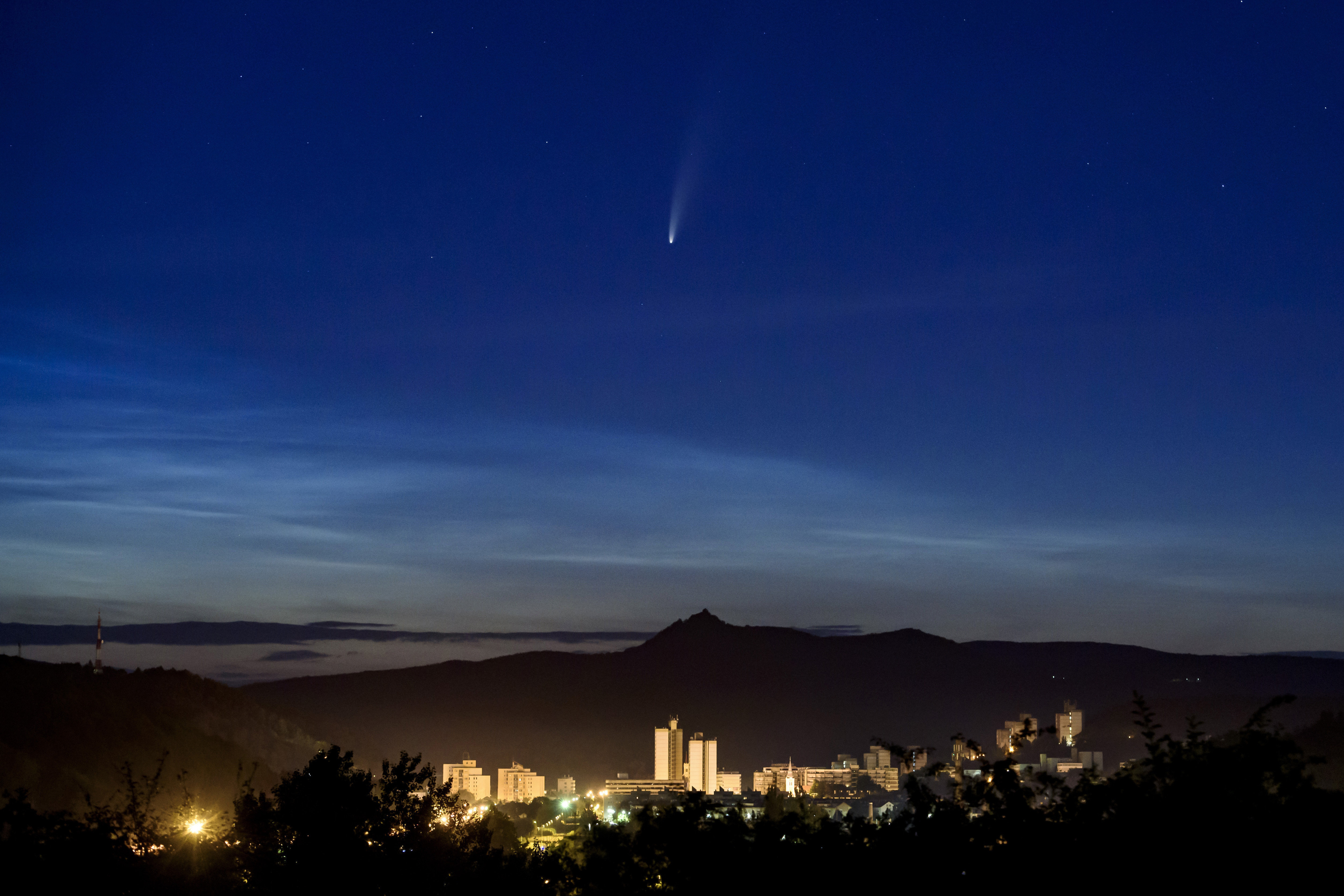 COMET NEOWISE: Where to look from West Seattle tonight and/or early tomorrow