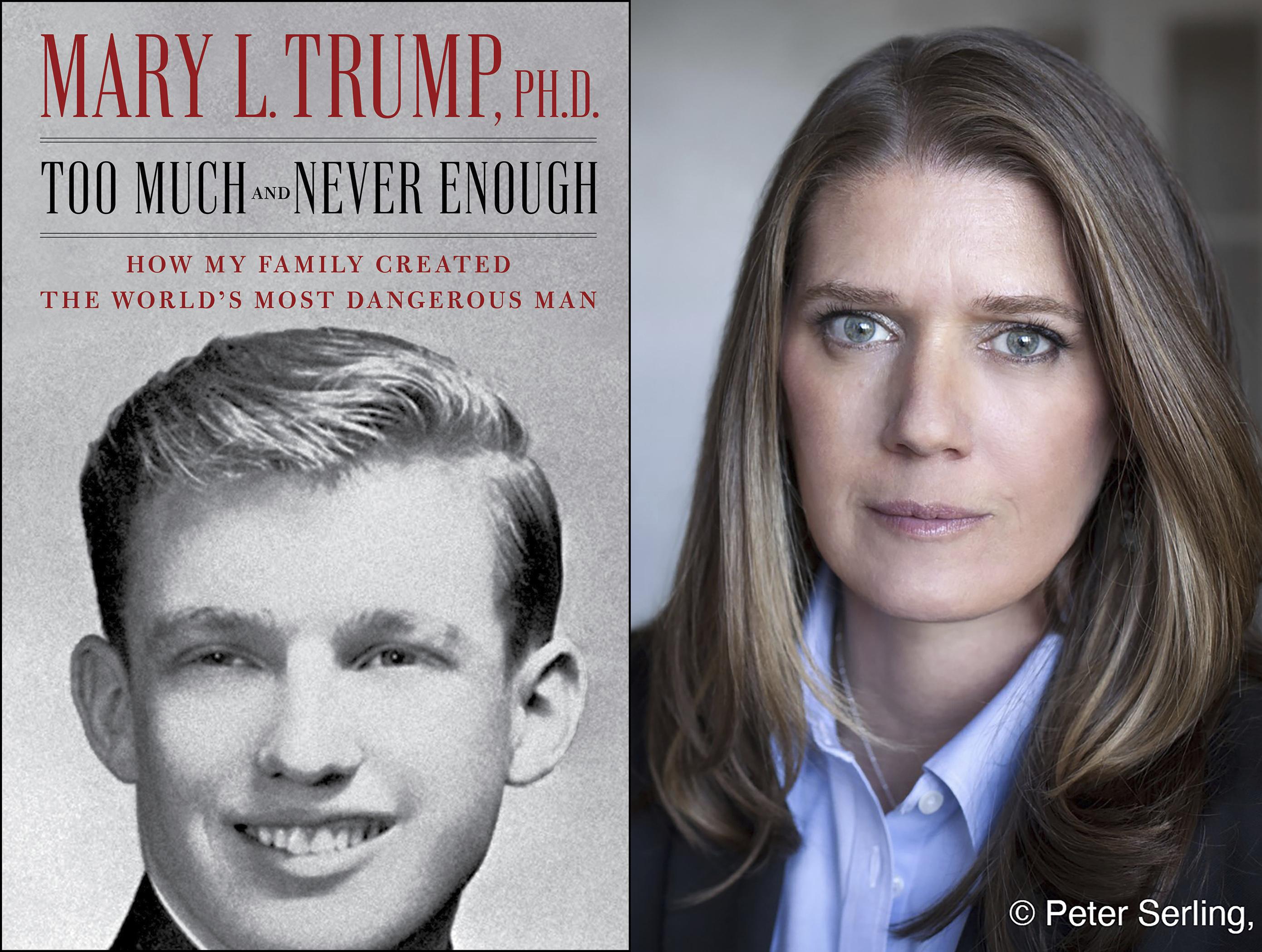 Mary Trump Says She's Heard The President Use N-Word & Anti-Semitic Slurs