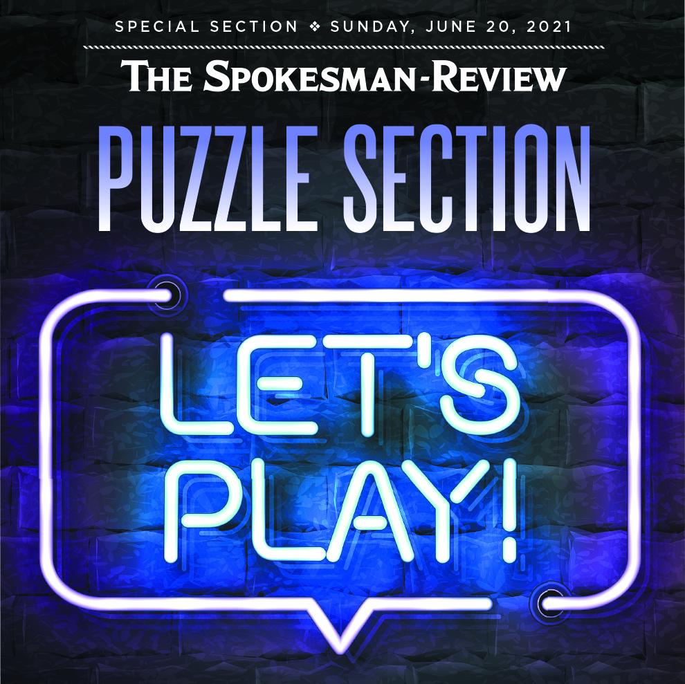 Puzzle Section June 2021