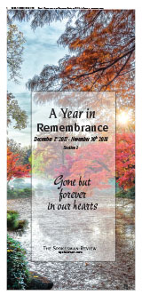 2018 Remembrance