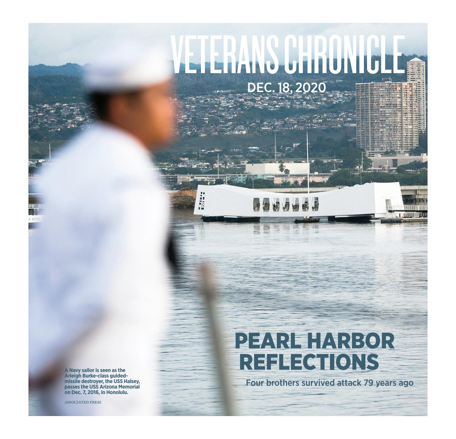 Veterans Chronicle December 18, 2020