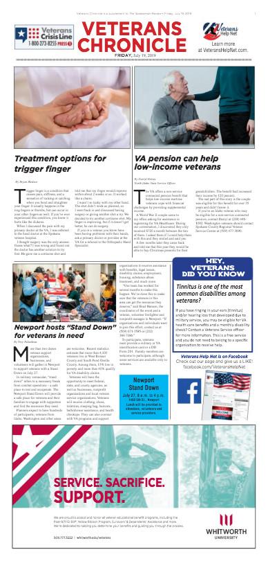 Veterans Chronicle 7/19/19