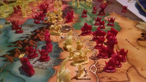 Battle across Middle Earth