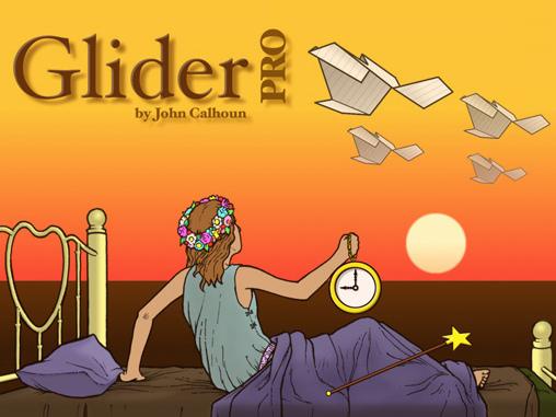 Glider PRO home screen